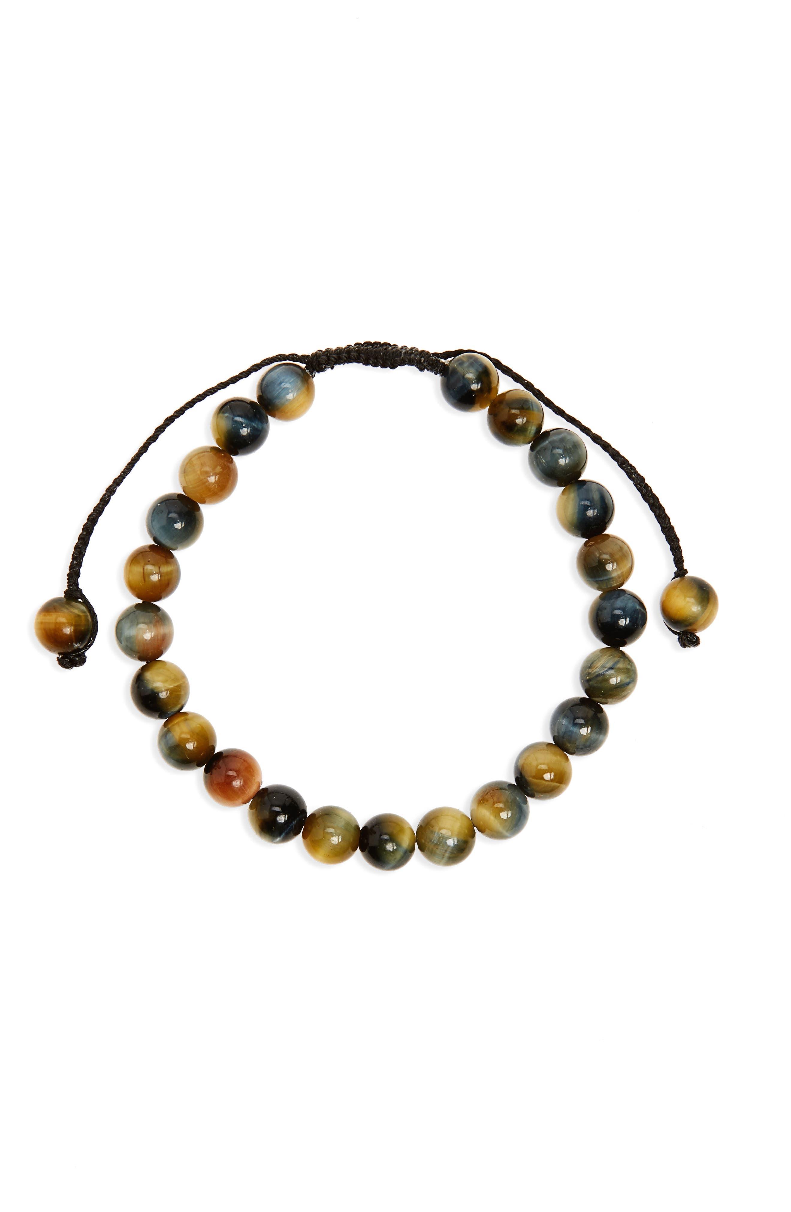 Alternate Image 1 Selected - Link Up Bead Bracelet