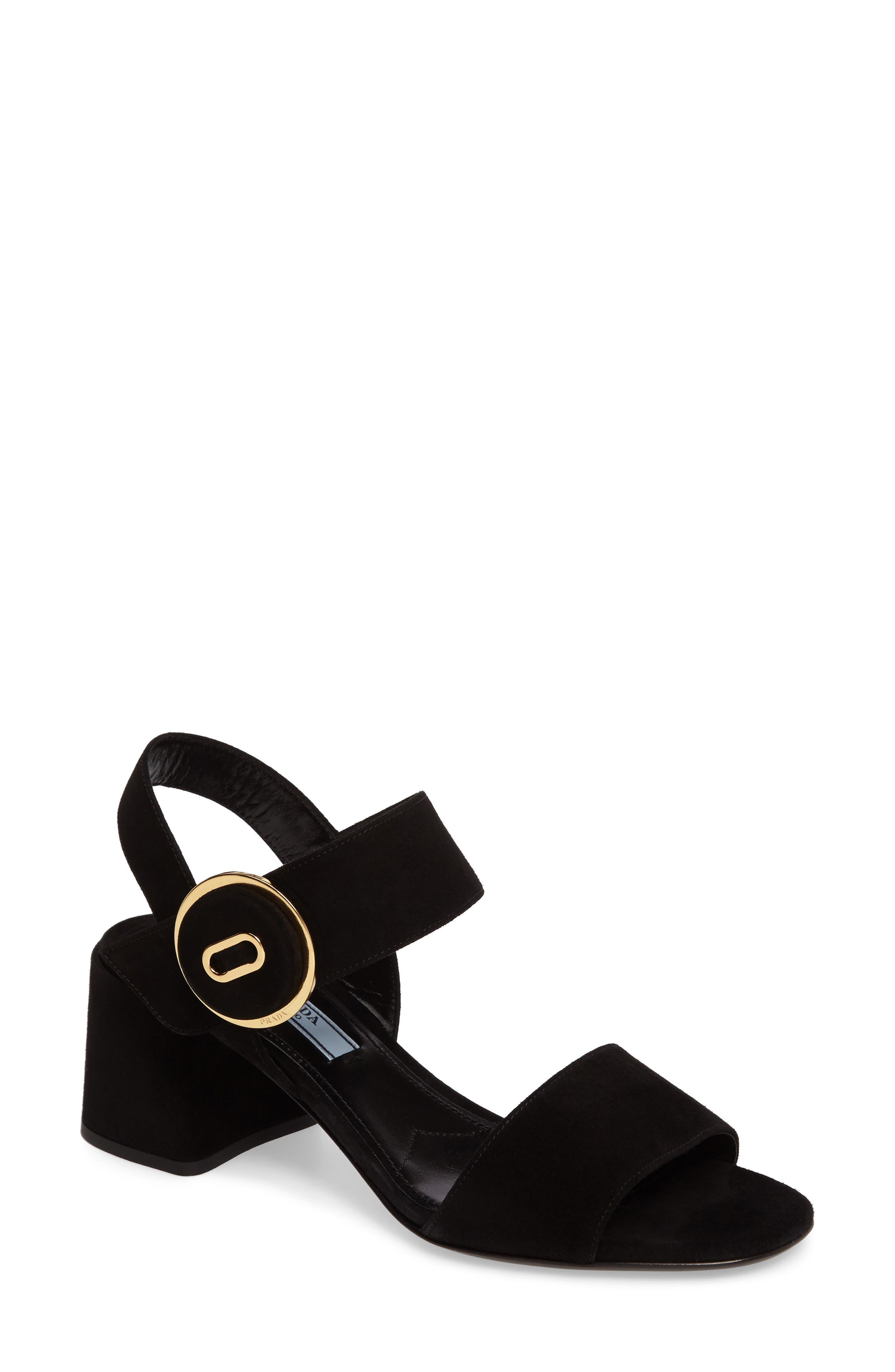 Prada Button Sandal (Women)