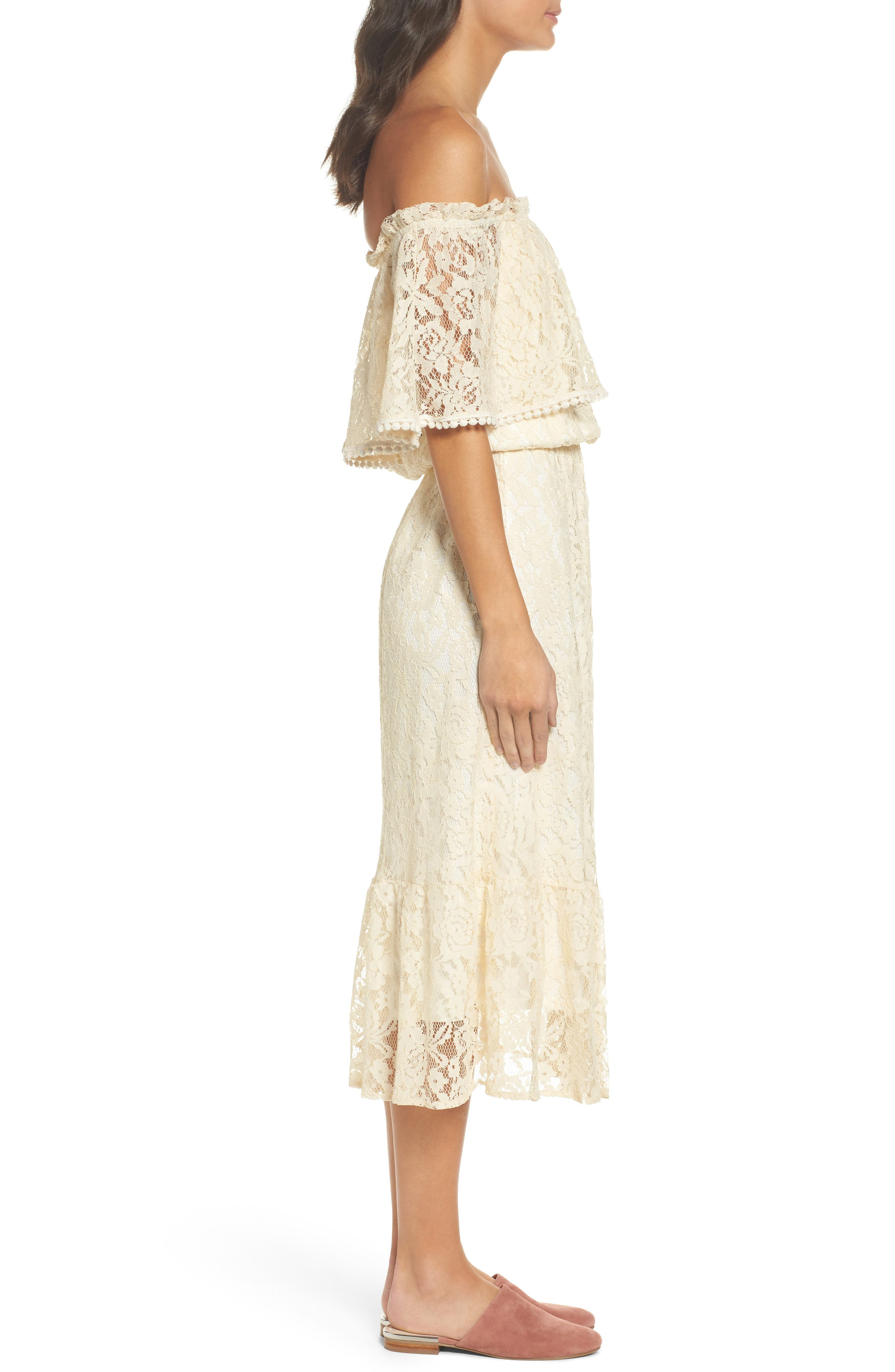 Alternate Image 3  - Fraiche by J Popover Midi Dress