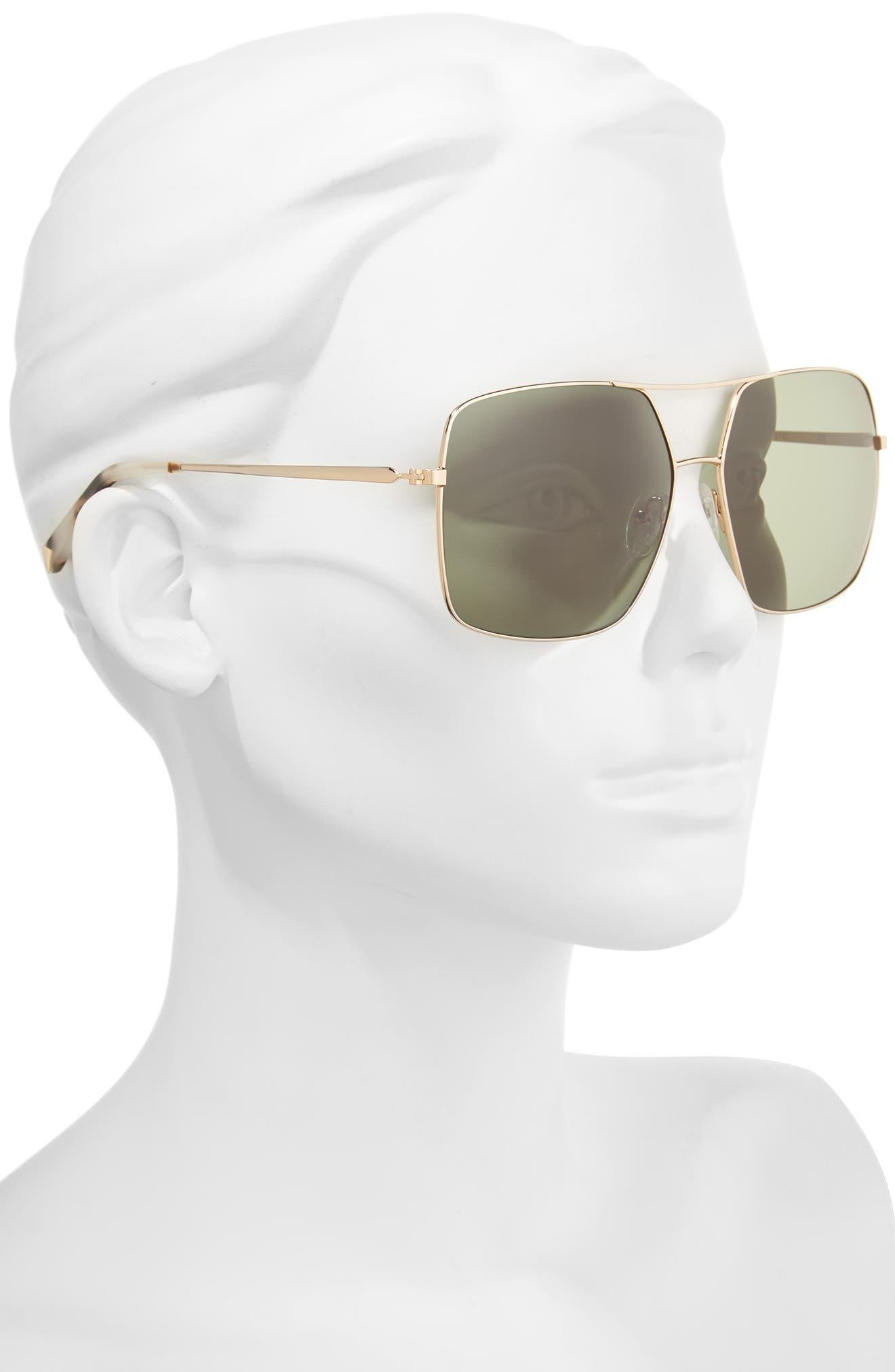 Alternate Image 2  - KENDALL + KYLIE 65mm Navigator Sunglasses