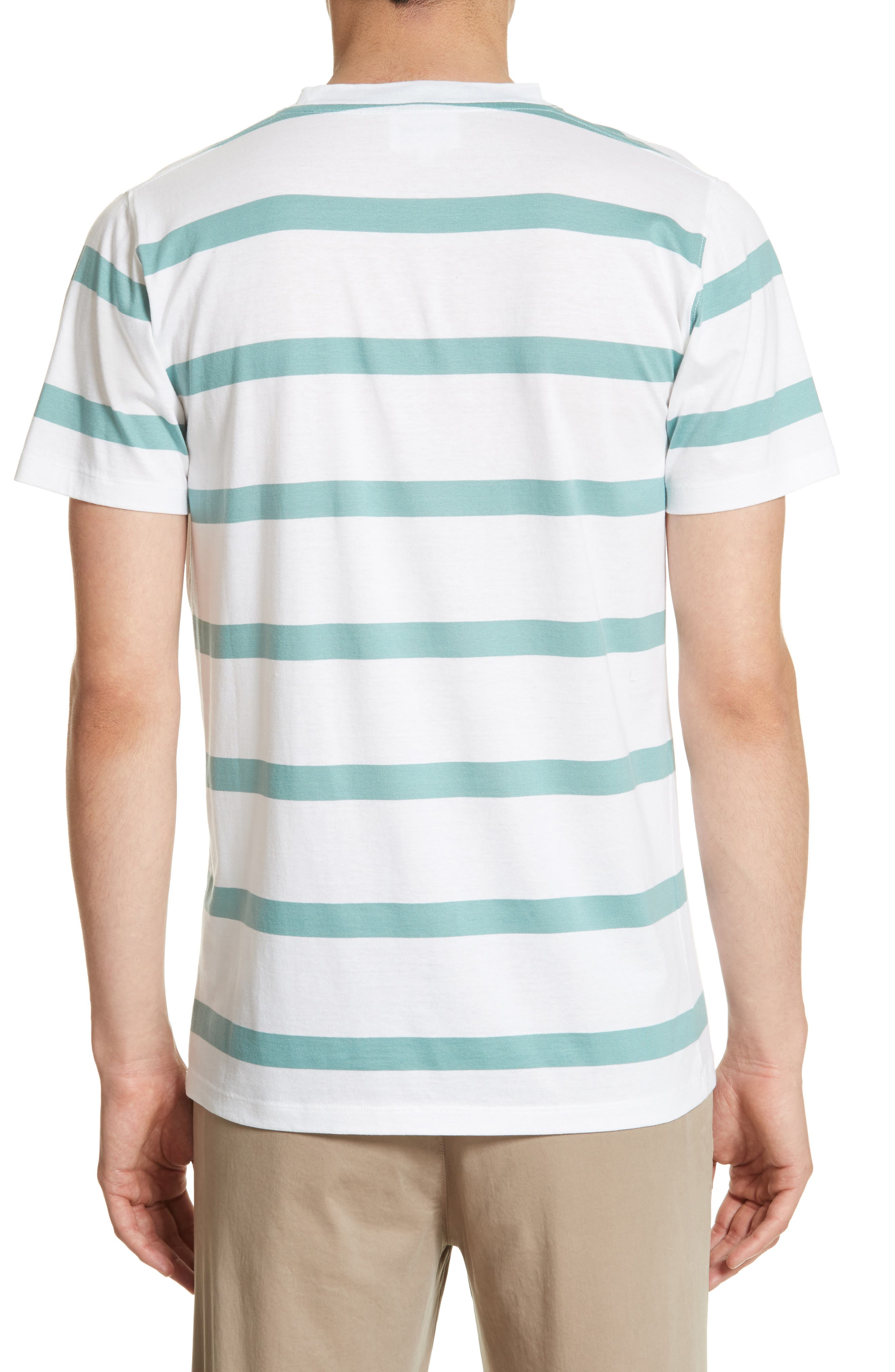 Alternate Image 2  - Norse Projects Neils Industrial Stripe T-Shirt