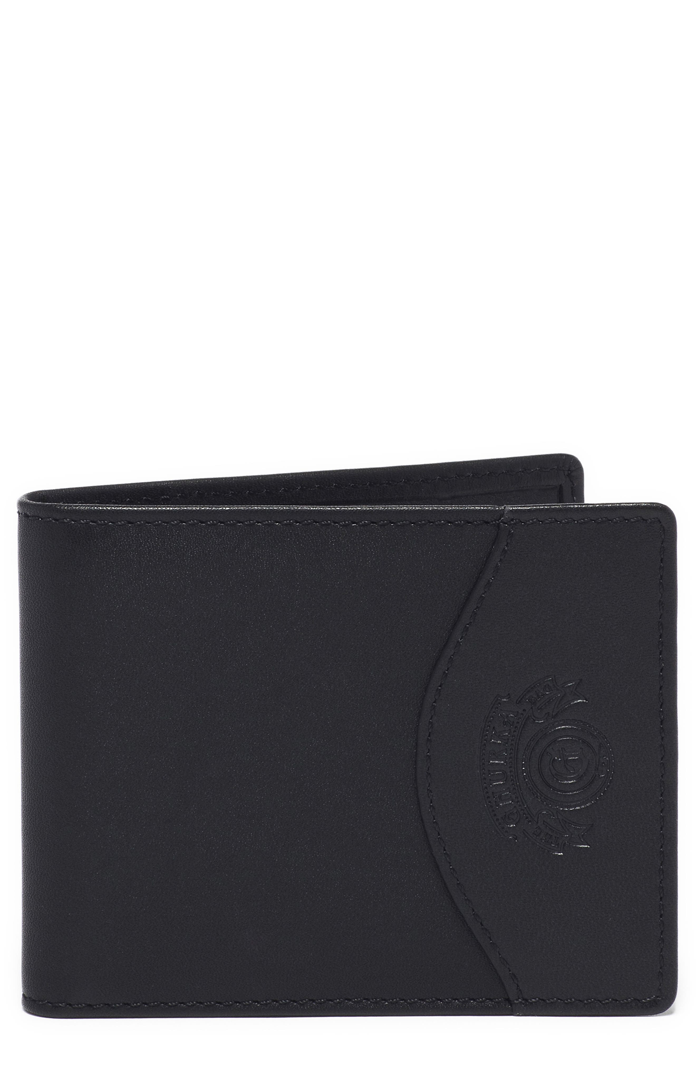 Ghurka Leather Money Clip Wallet