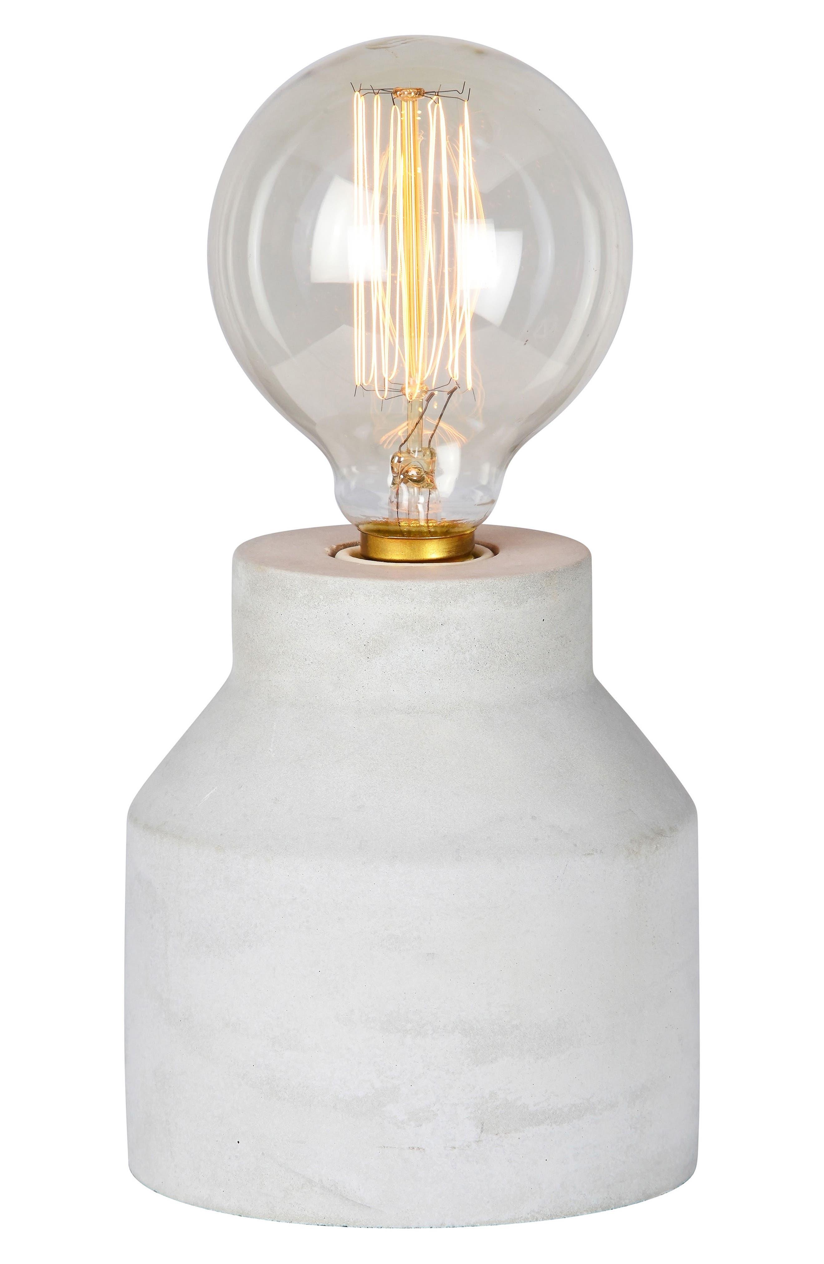 Grey Table Lamp,                         Main,                         color, Light Grey
