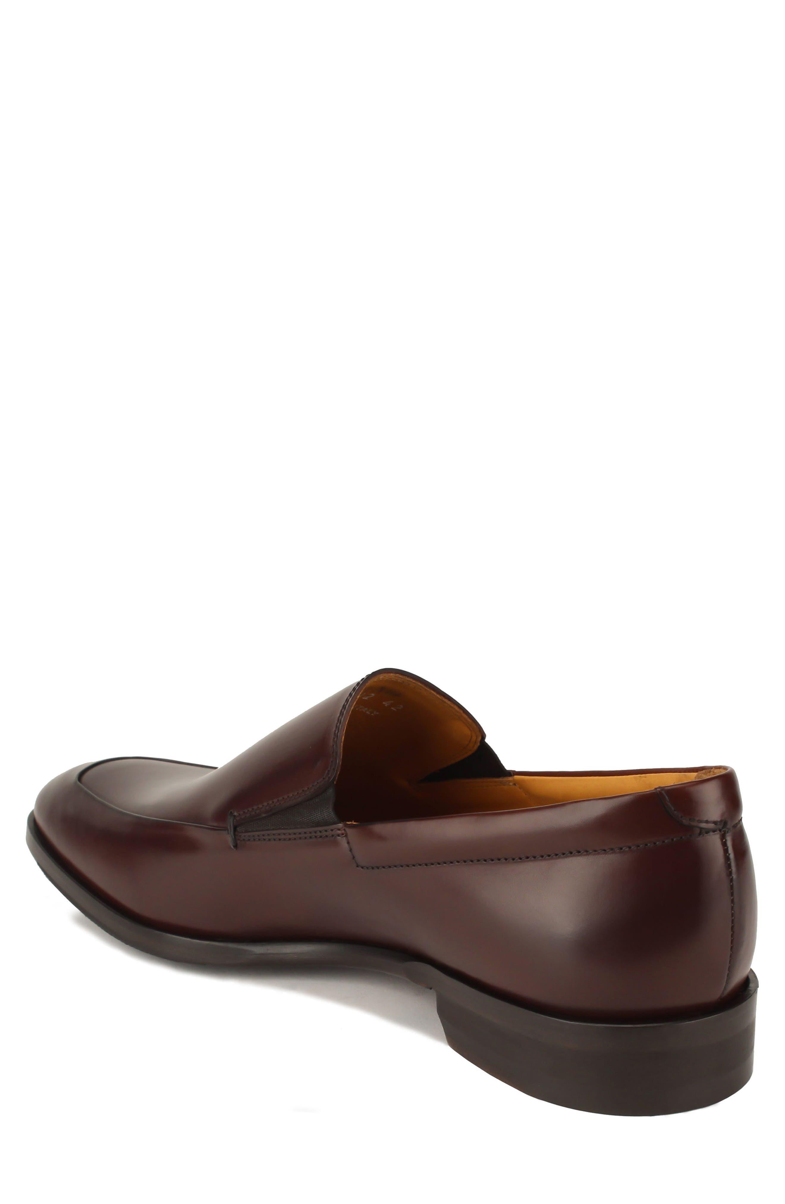Brighton II Venetian Loafer,                             Alternate thumbnail 2, color,                             Bourbon Leather