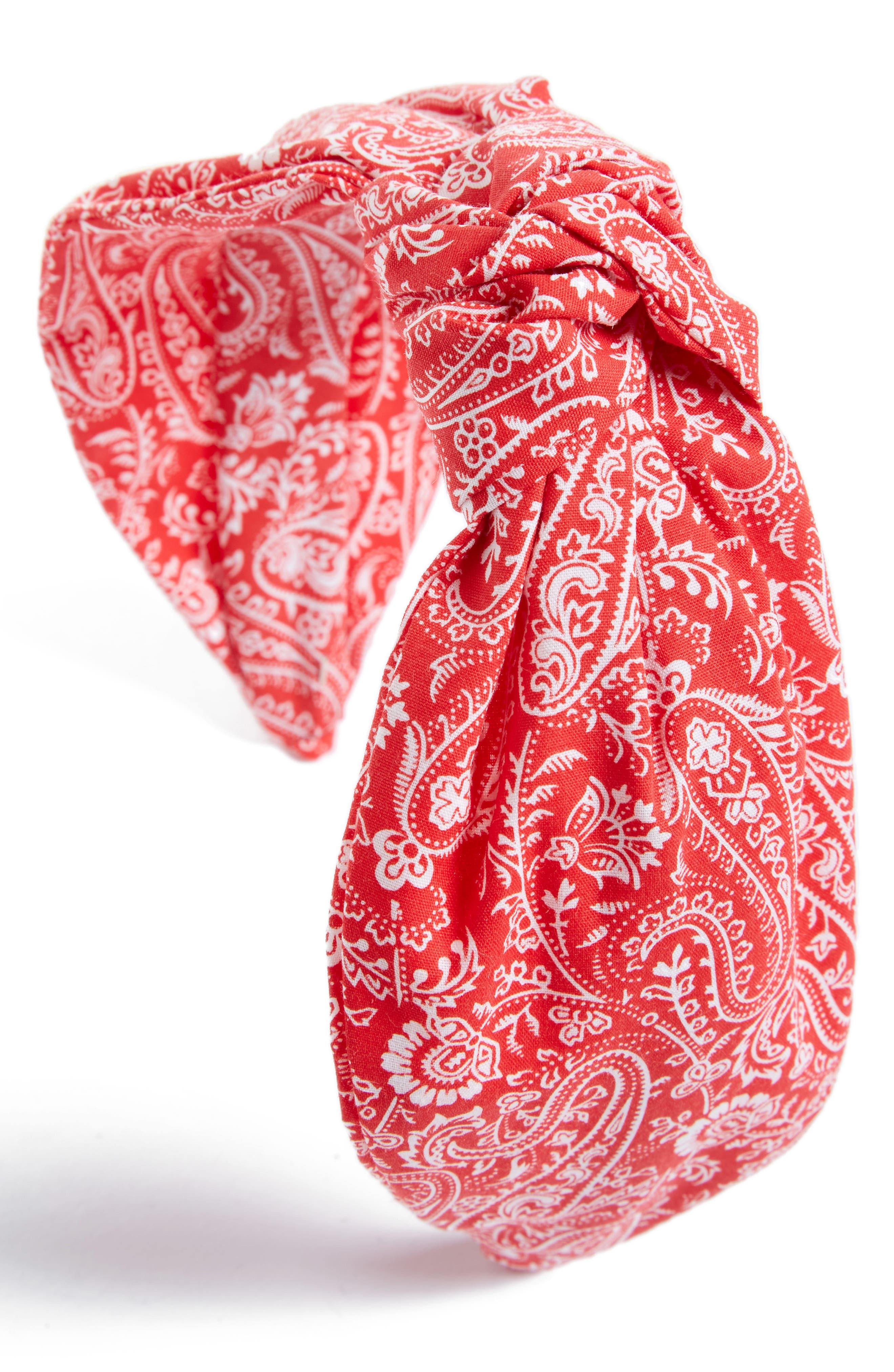 Main Image - Tasha Paisley Turban Knot Headband