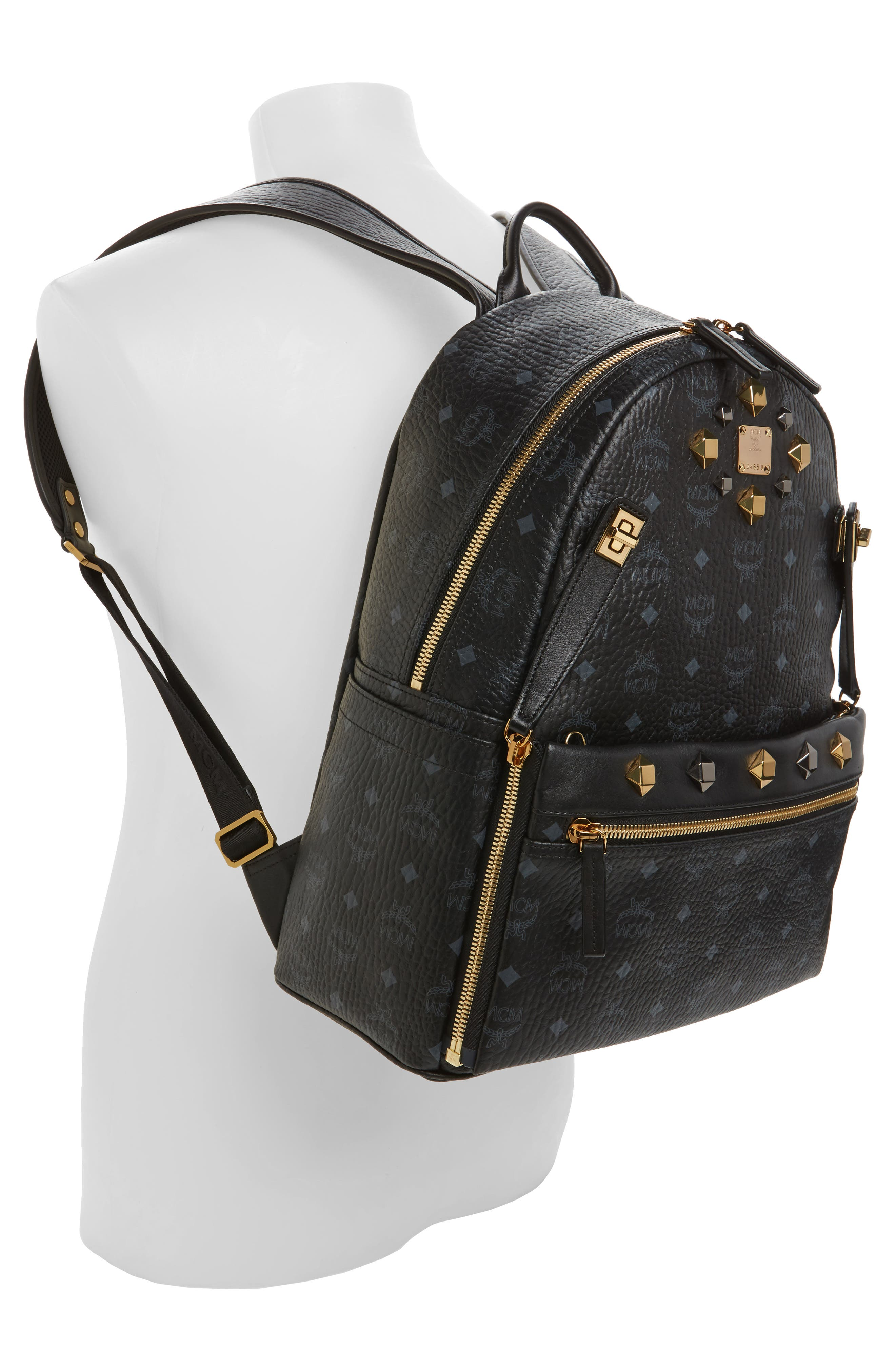Alternate Image 2  - MCM Medium Dual Stark Backpack