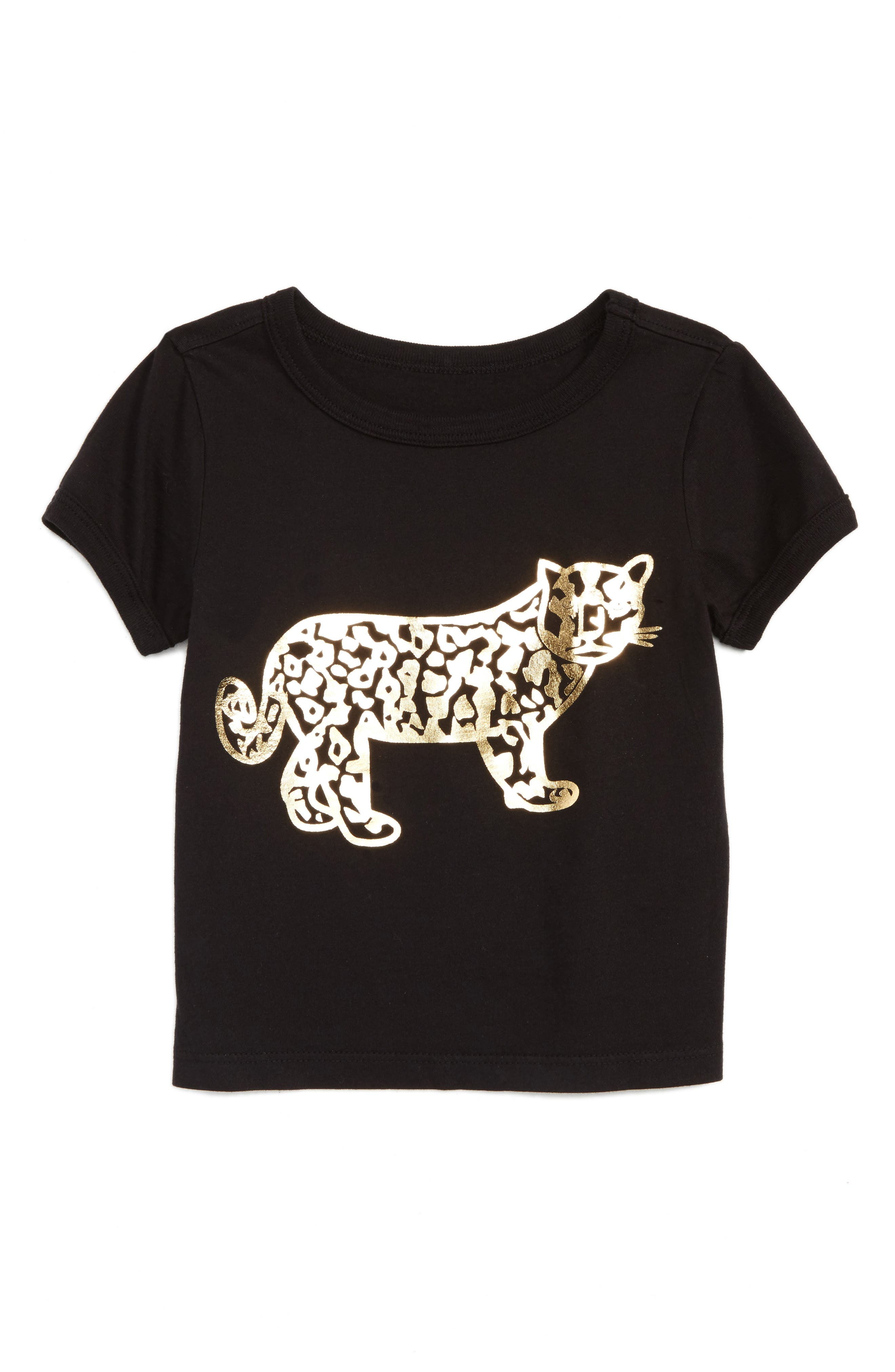Beru Leopard Graphic Ava Tee (Toddler Girls & Little Girls)
