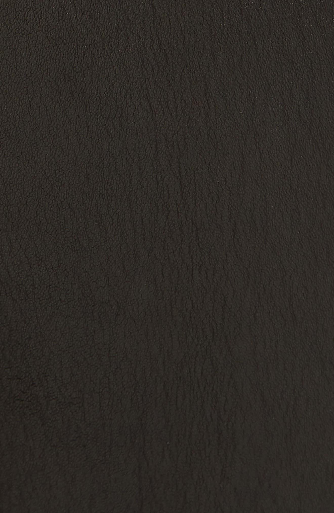 Alternate Image 5  - rag & bone/JEAN Hana Crop Flare Leather Pants