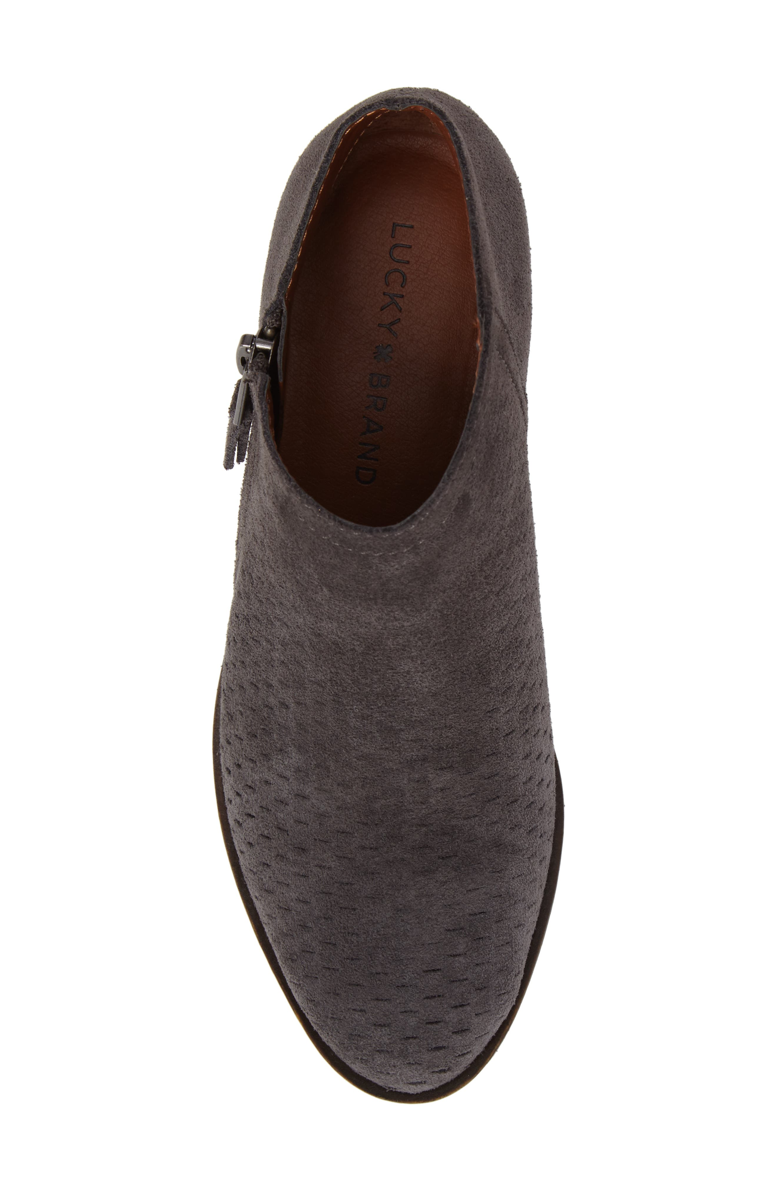 Alternate Image 5  - Lucky Brand Brielley Perforated Bootie (Women)
