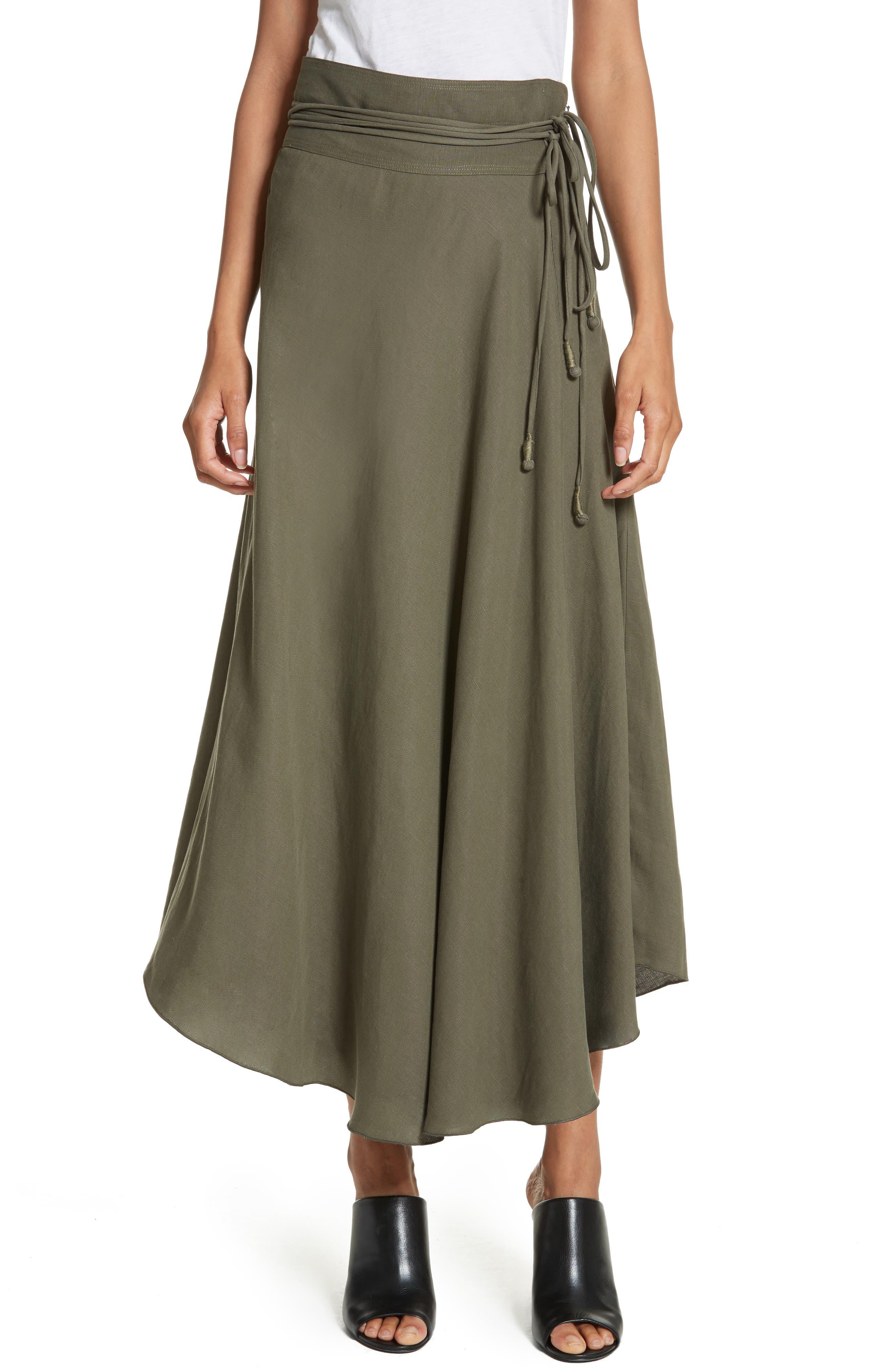APIECE APART Rosehip Midi Skirt