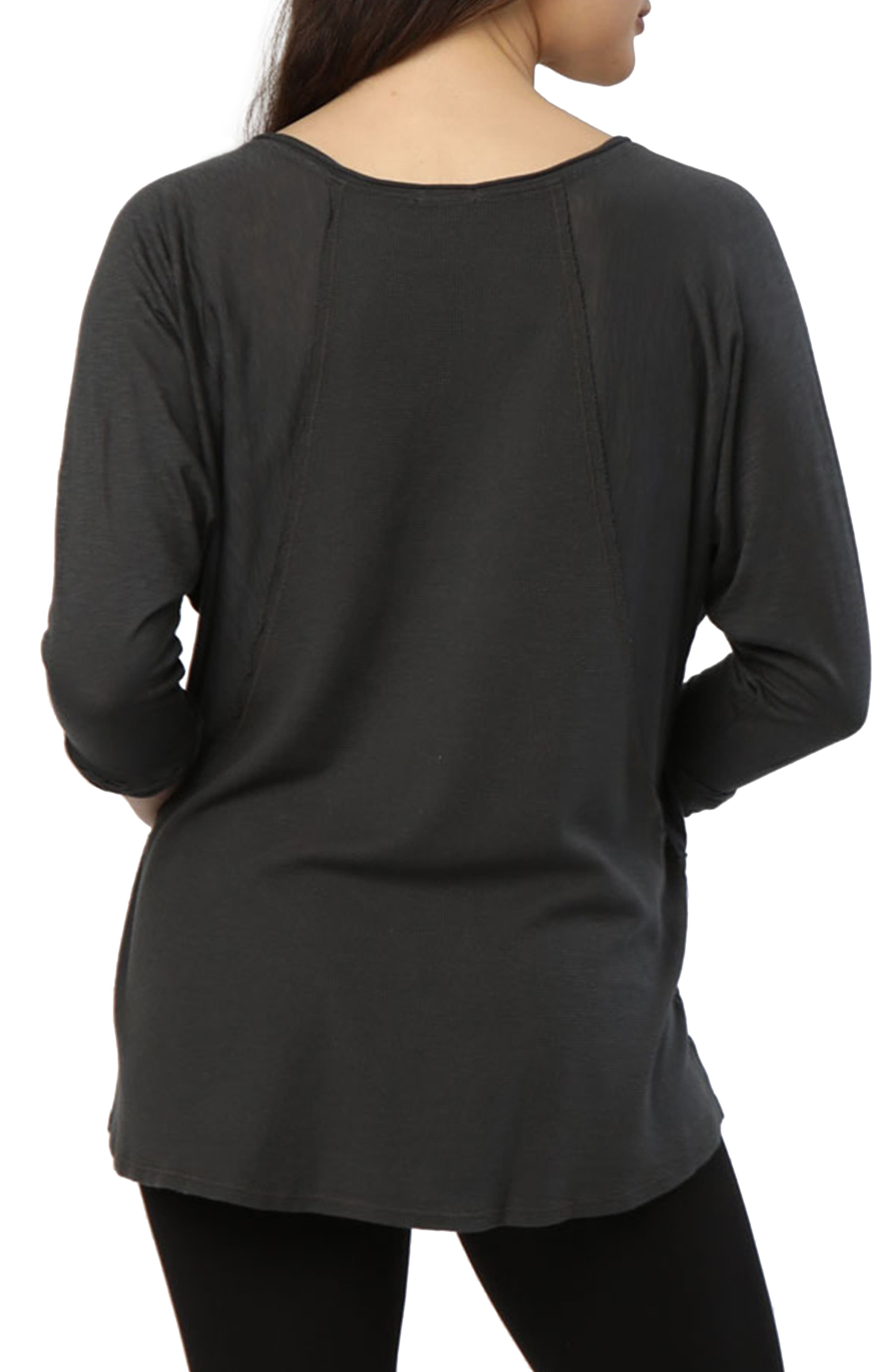 Alternate Image 2  - LAmade Kris Long-Sleeve Top