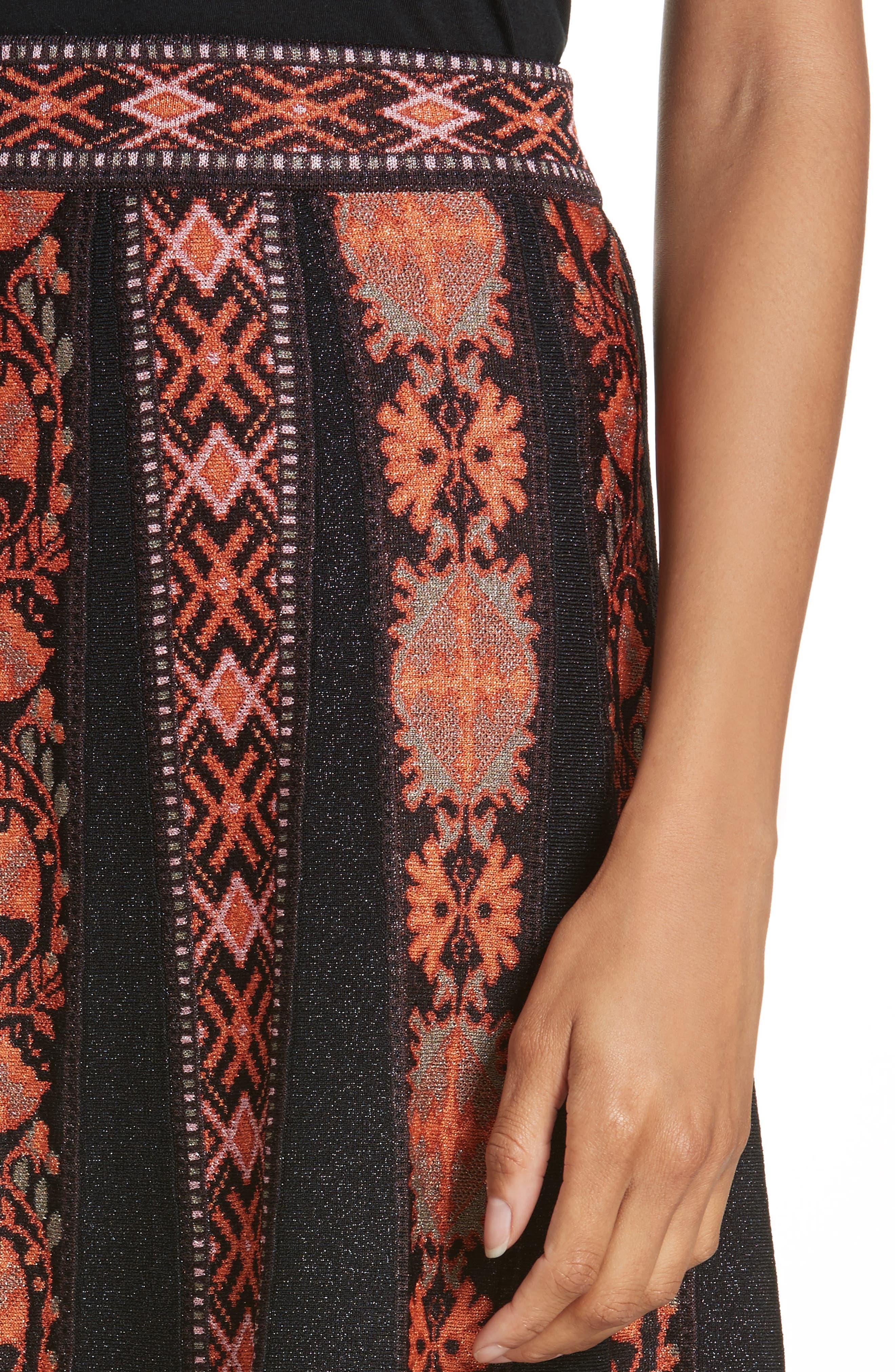 Alternate Image 4  - M Missoni Ribbon Jacquard Skirt