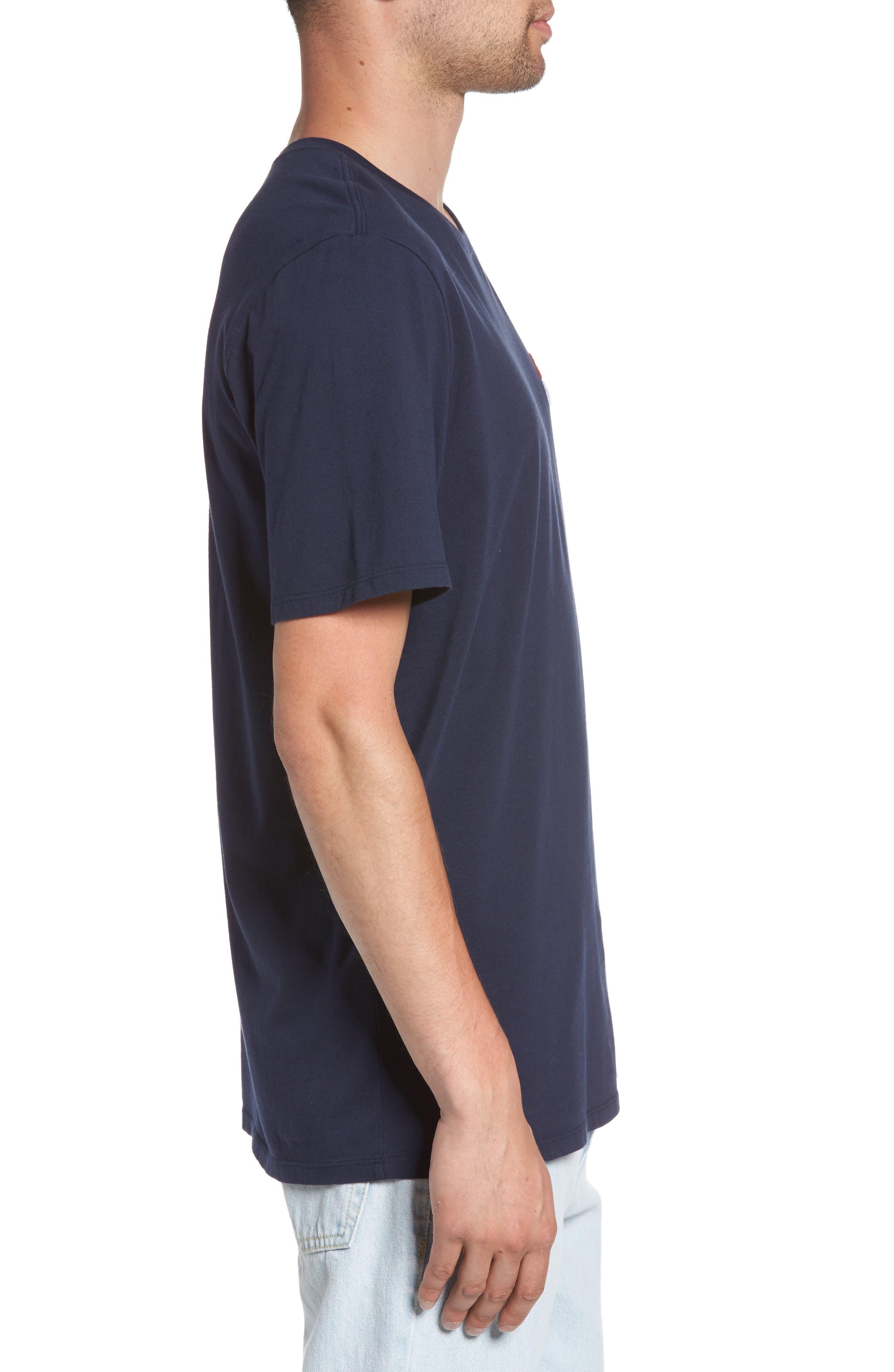 Nike Sportswear Futura T-Shirt,                             Alternate thumbnail 3, color,                             Obsidian