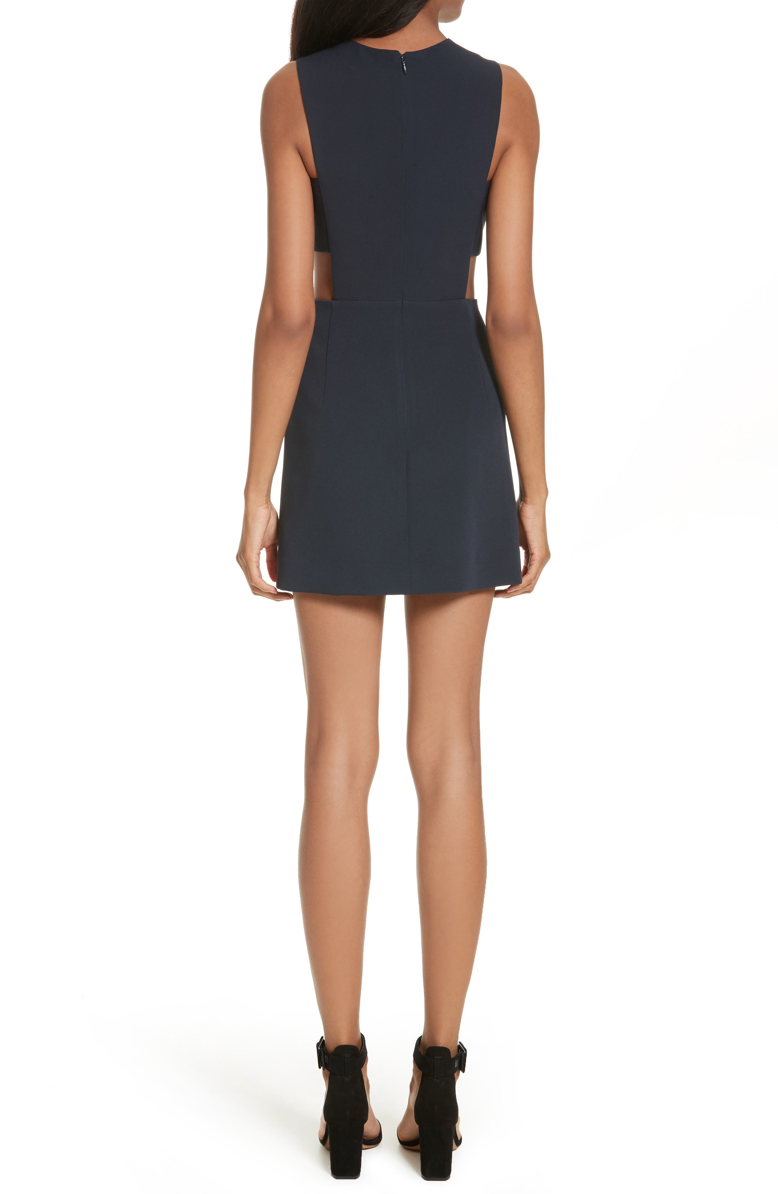 Cutout Mindress,                             Alternate thumbnail 2, color,                             Navy