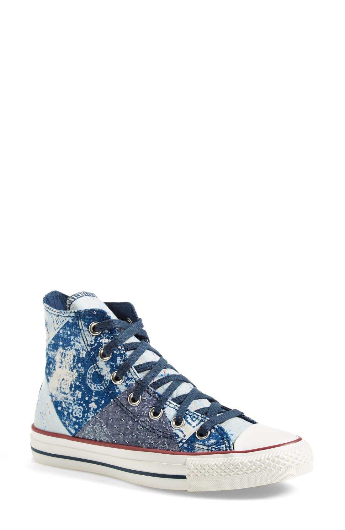 Alternate Image 1 Selected - Converse Chuck Taylor® All Star® 'Multi Bandana' High Top Sneaker (Women)
