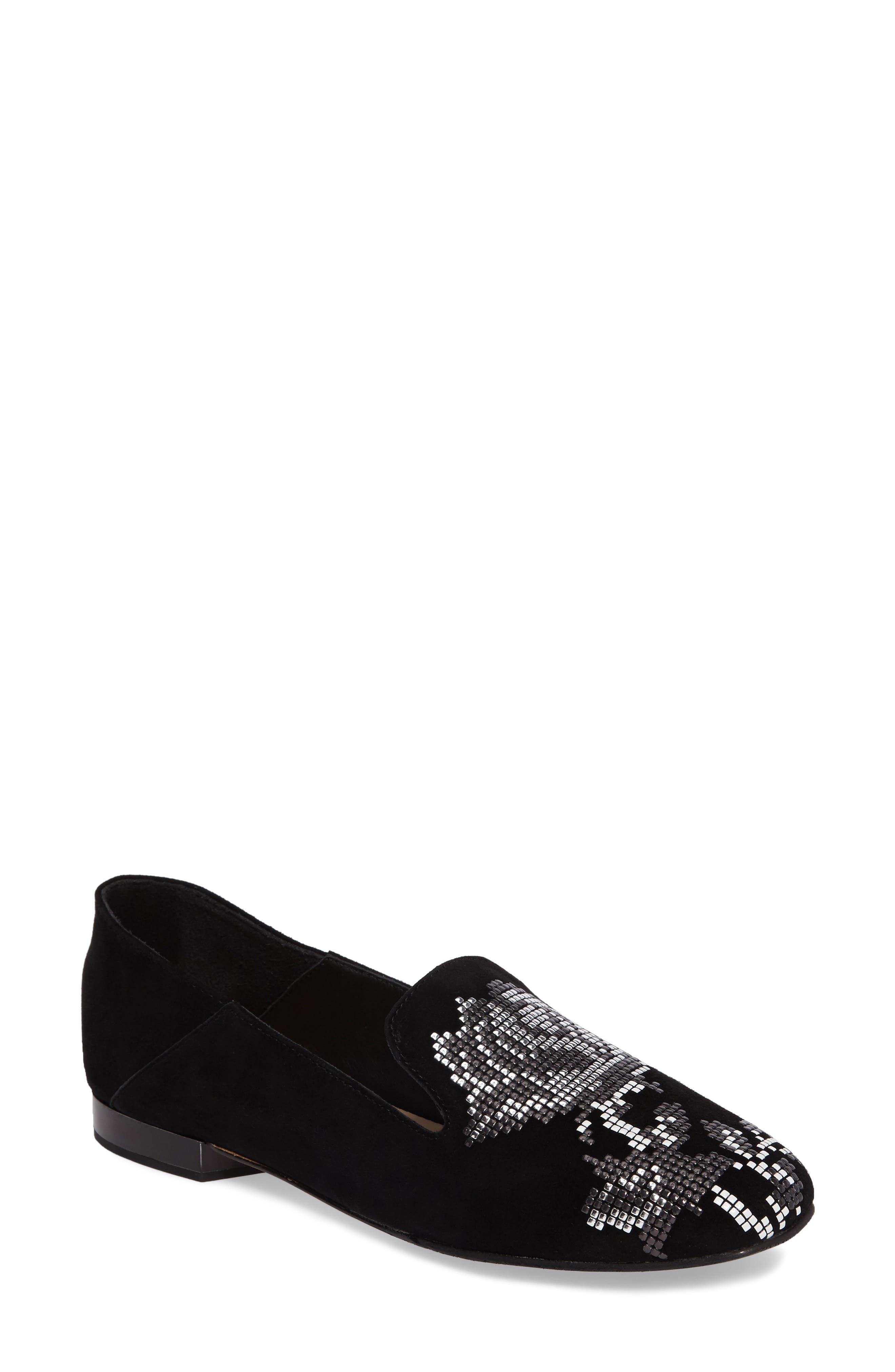 Donald J Pliner Hiro Embellished Loafer