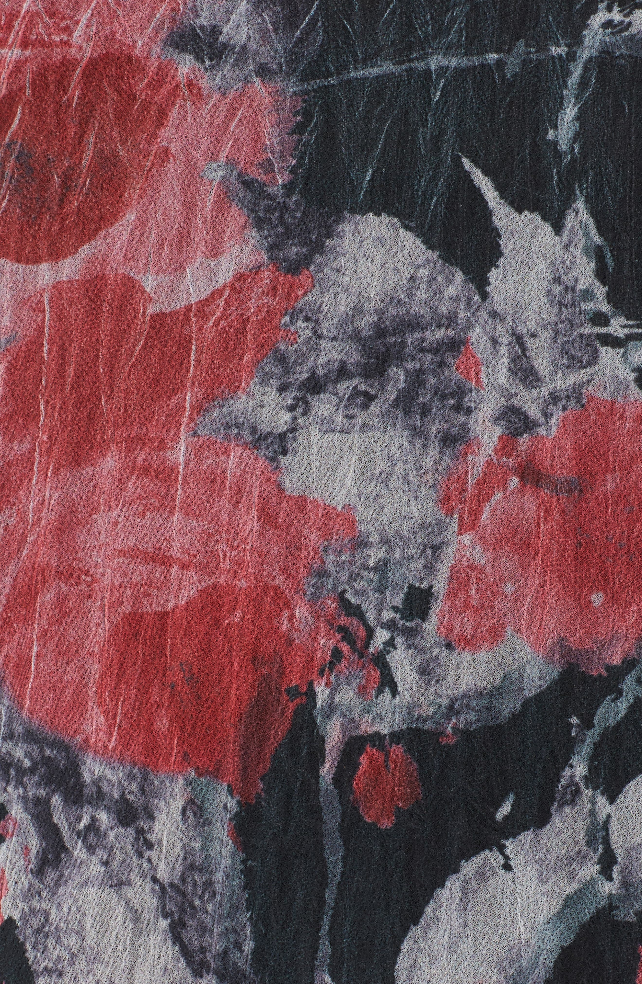 A-Line Dress,                             Alternate thumbnail 5, color,                             Strawberry Fields
