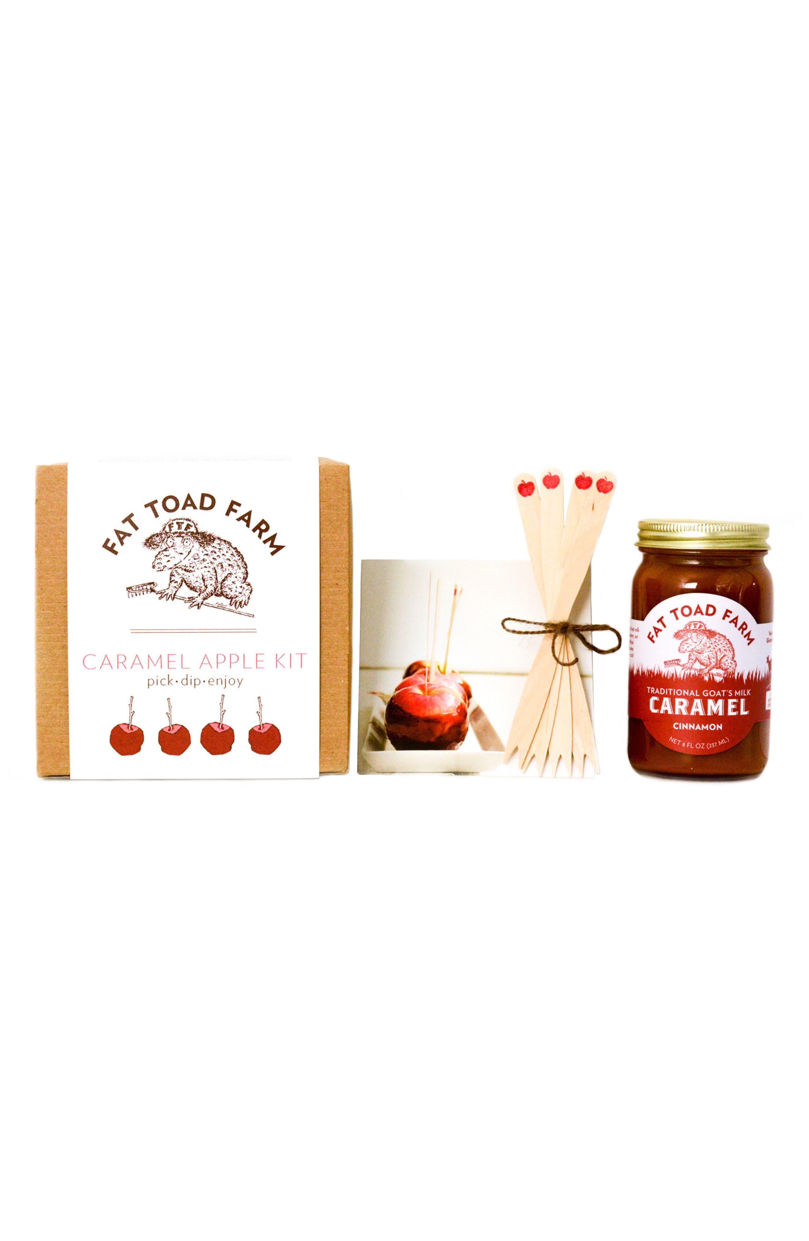 Caramel Apple Kit,                             Main thumbnail 1, color,                             White