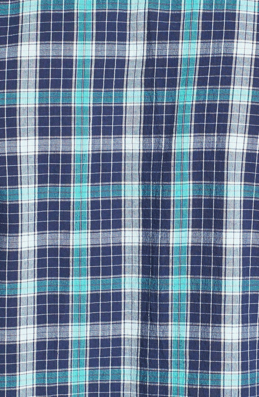 Alternate Image 3  - Billy Reid 'John T' Standard Fit Plaid Sport Shirt