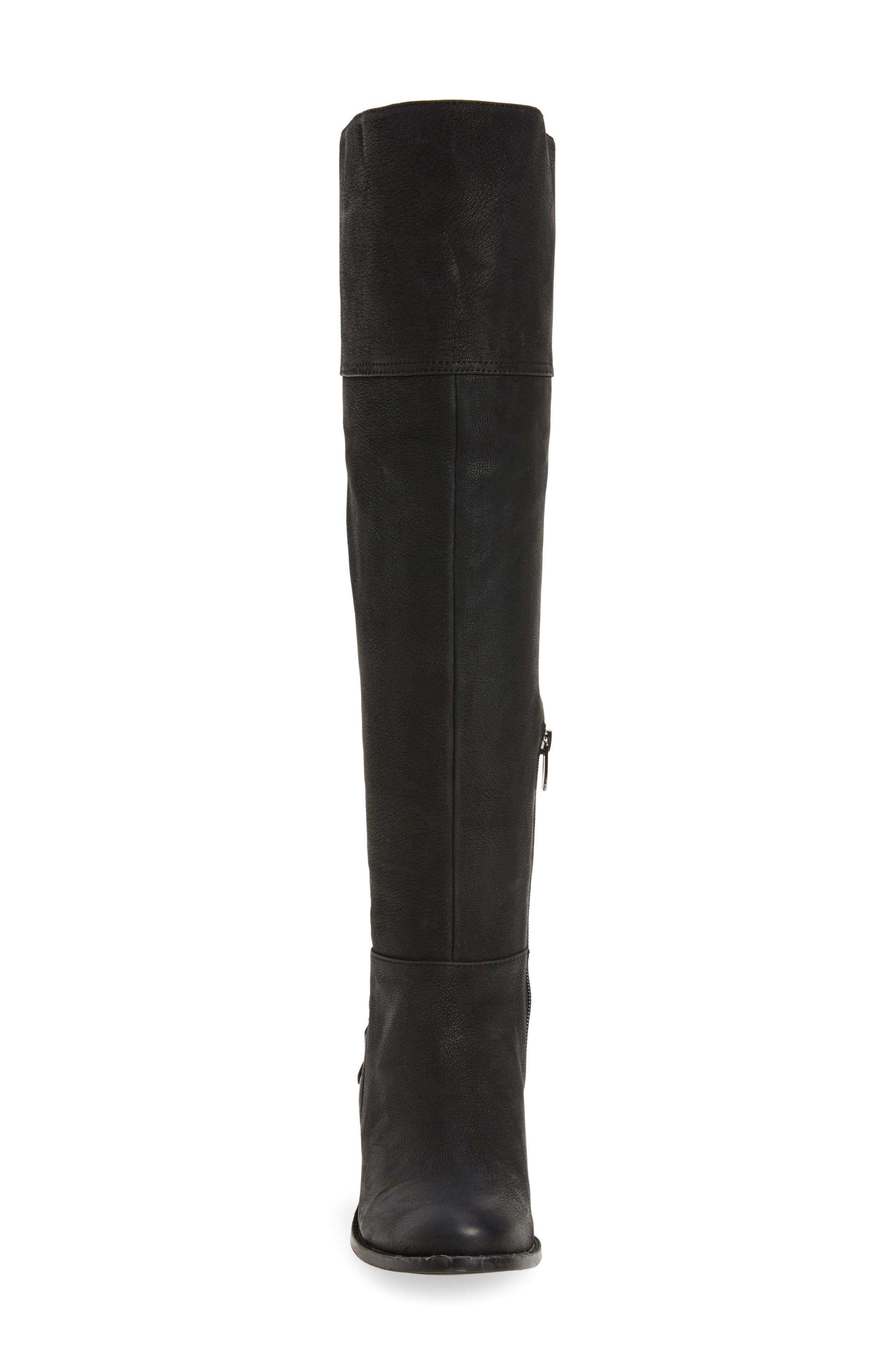 Bolina Over the Knee Boot,                             Alternate thumbnail 5, color,                             Black