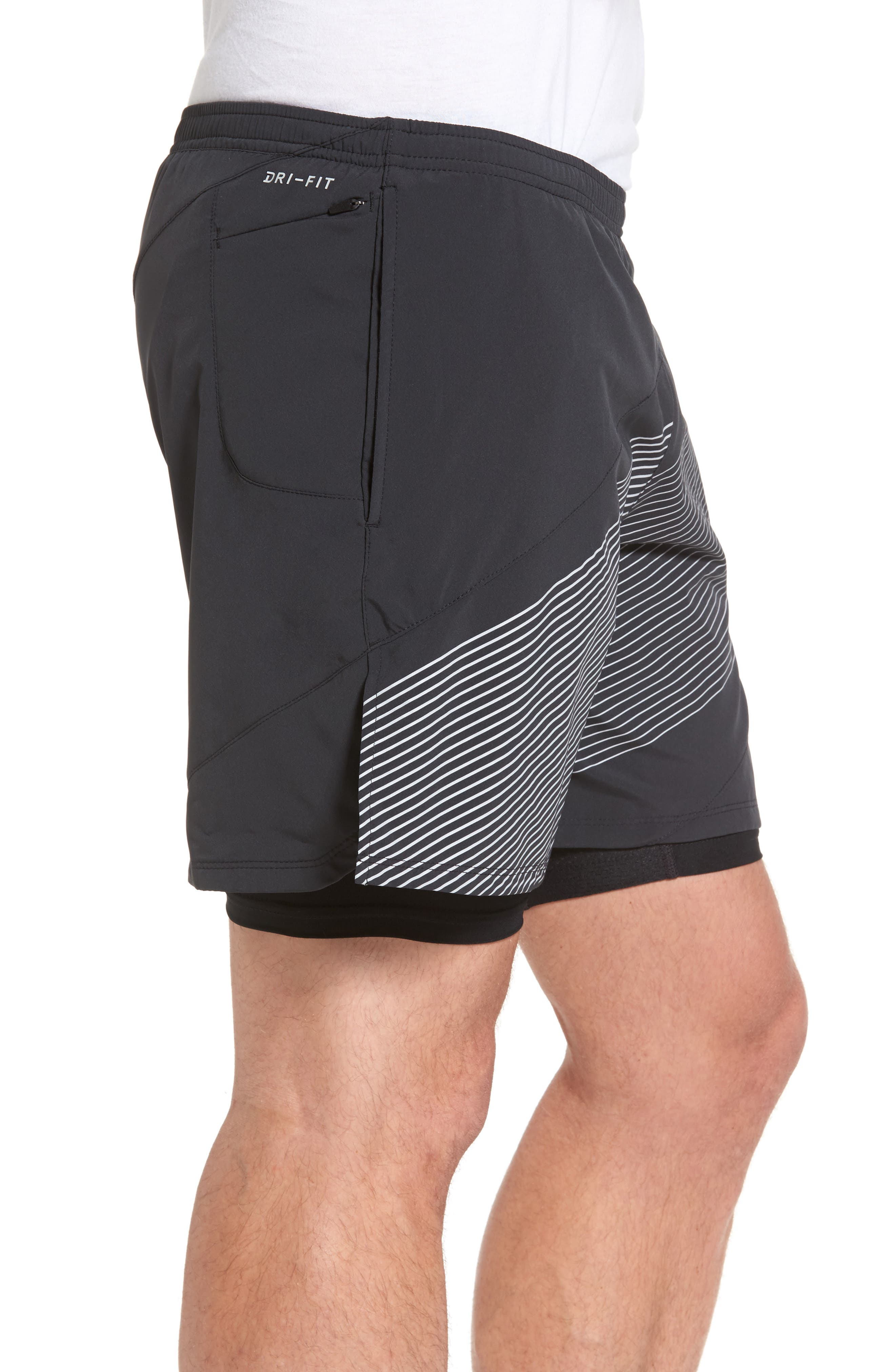 Alternate Image 3  - Nike Flex Running Shorts