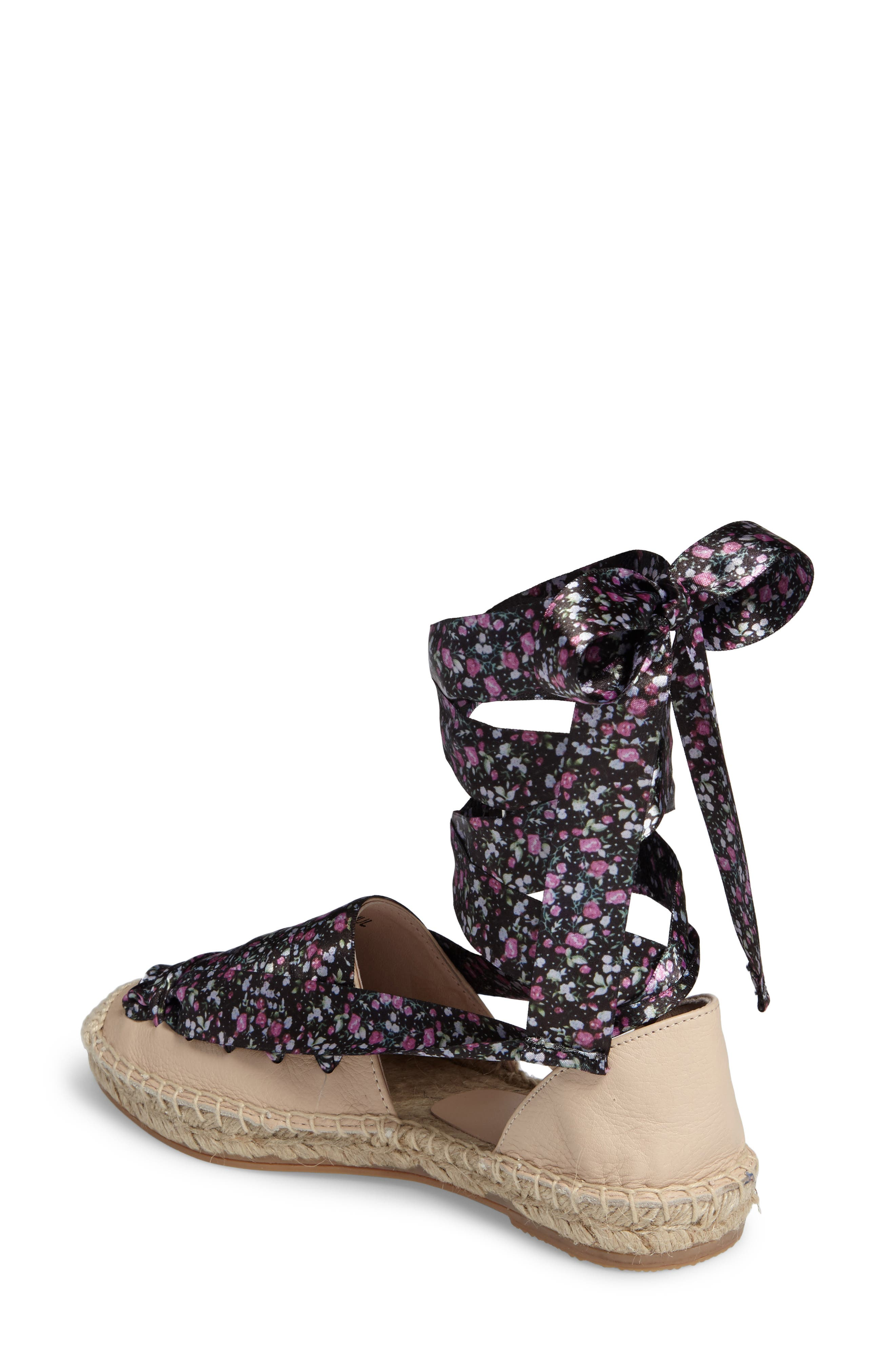Alternate Image 2  - Topshop King Ankle Tie Espadrille (Women)