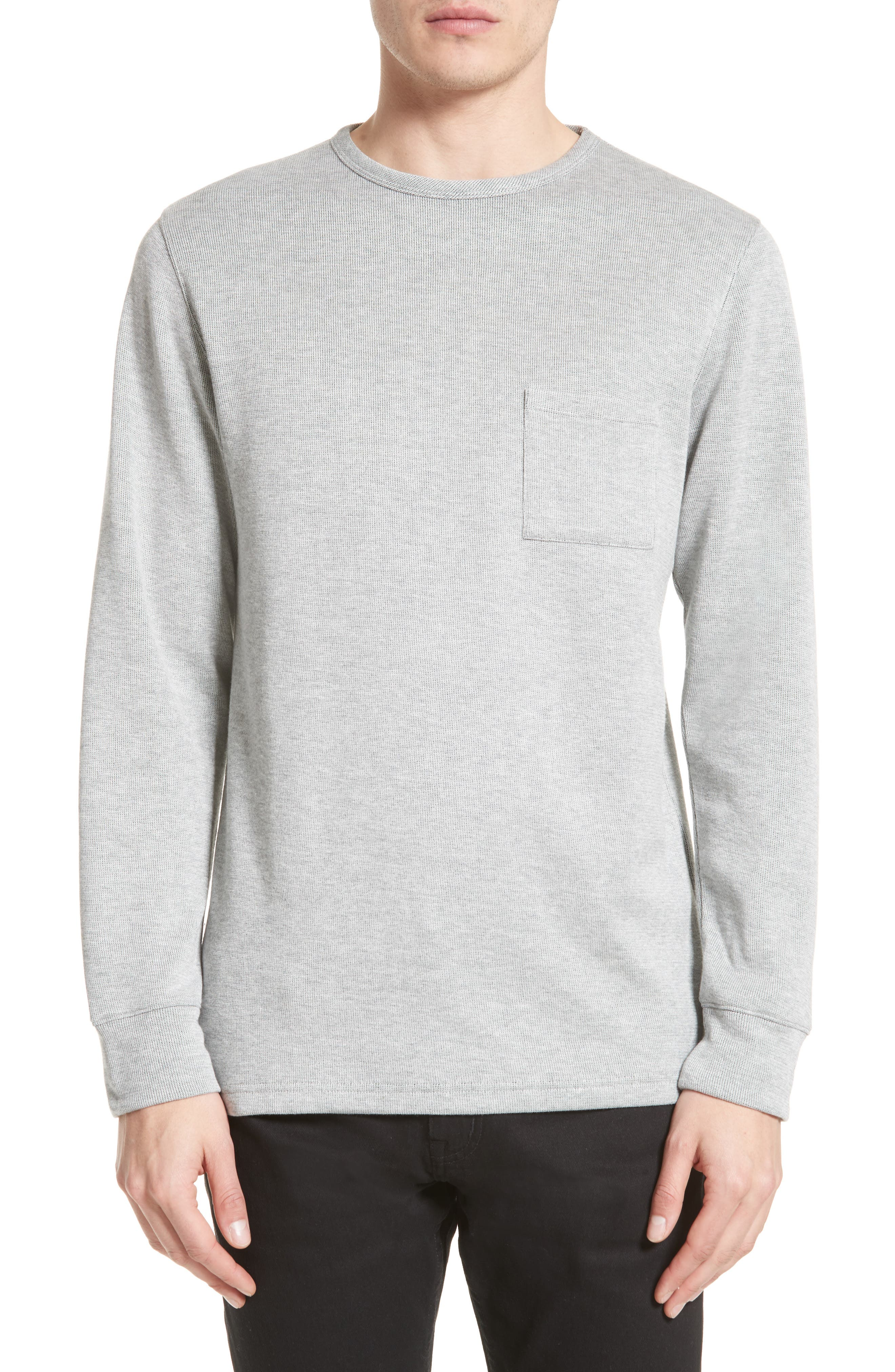 SATURDAYS NYC James Pocket Sweater