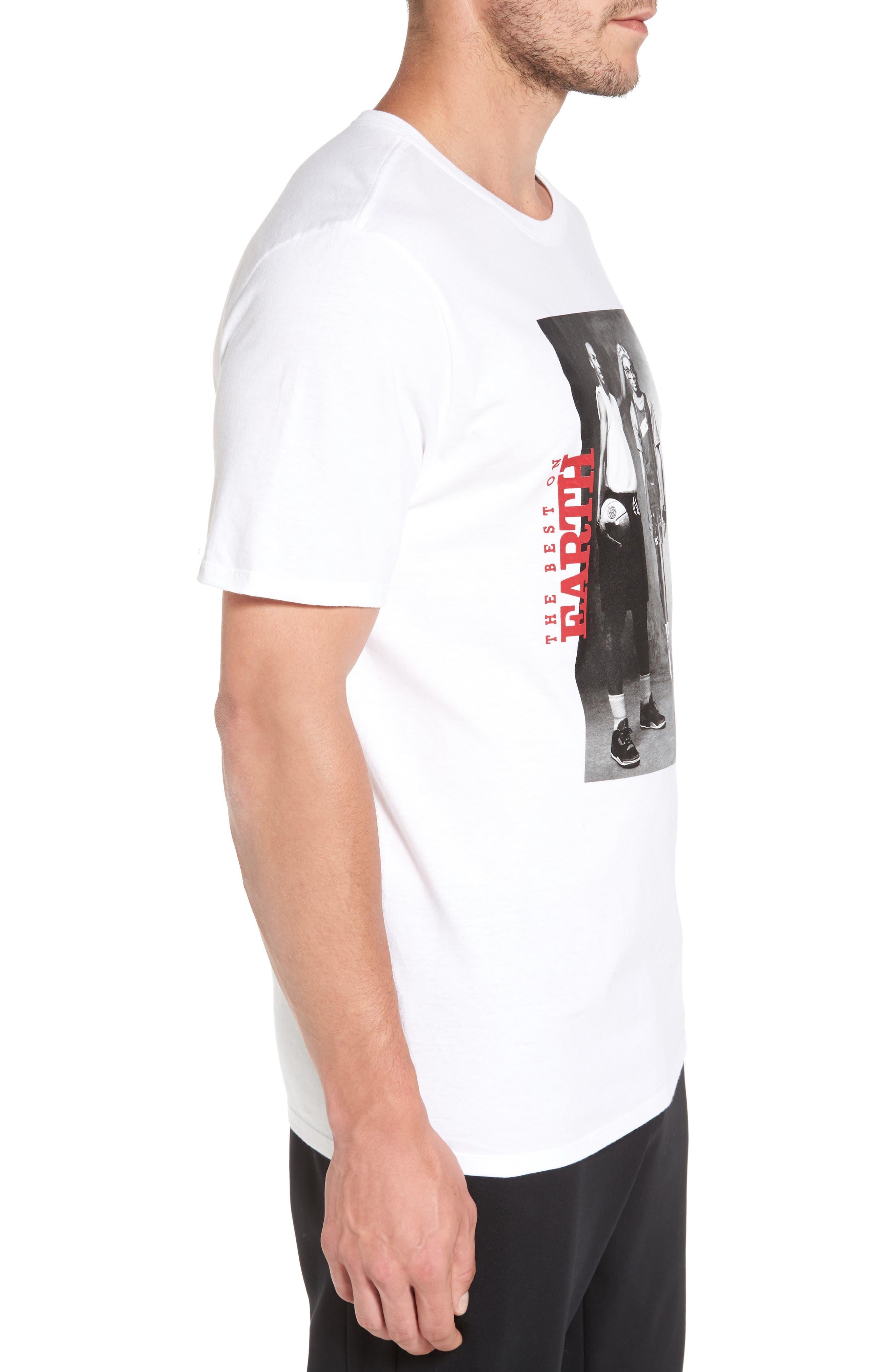 Sportswear Mars Blackmon T-Shirt,                             Alternate thumbnail 3, color,                             White