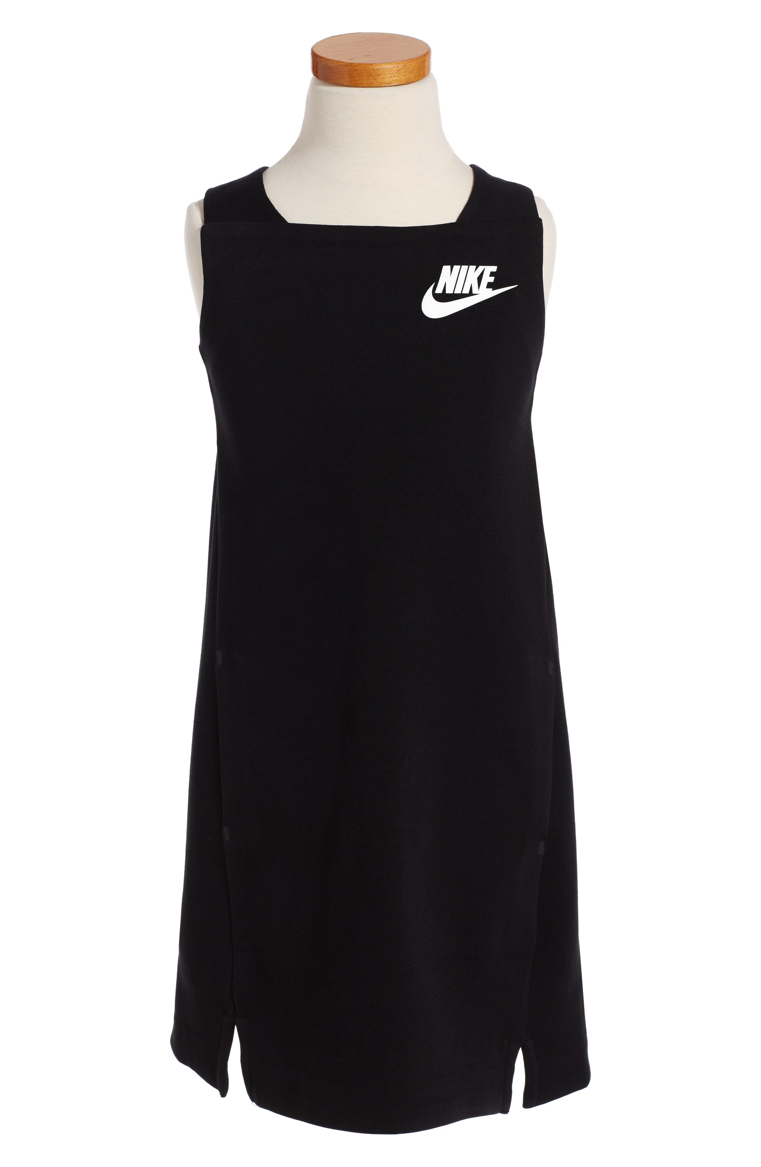 Nike Sportswear Tech Fleece Dress (Big Girls)