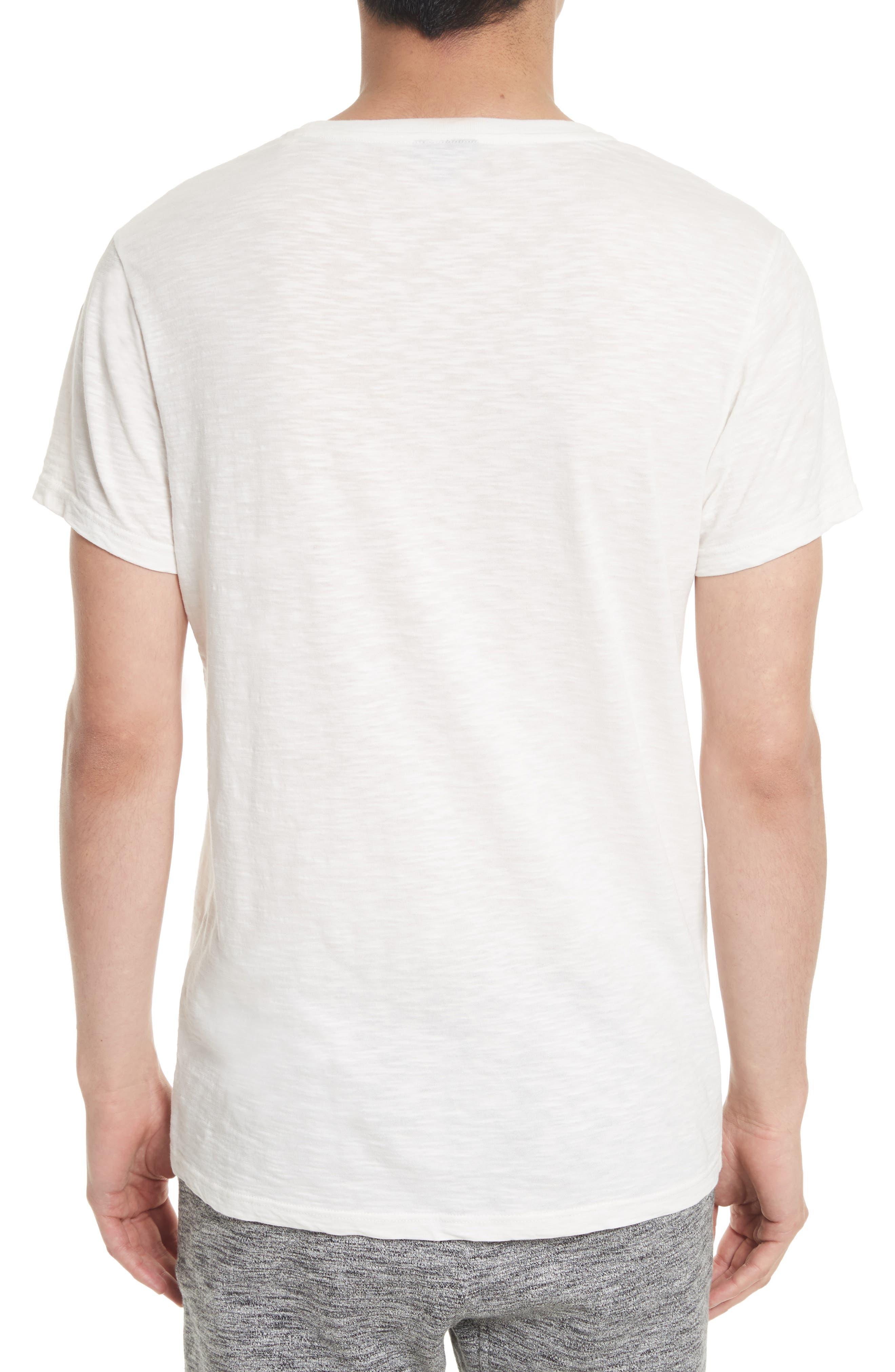 Hamberton Logo T-Shirt,                             Alternate thumbnail 2, color,                             Off White