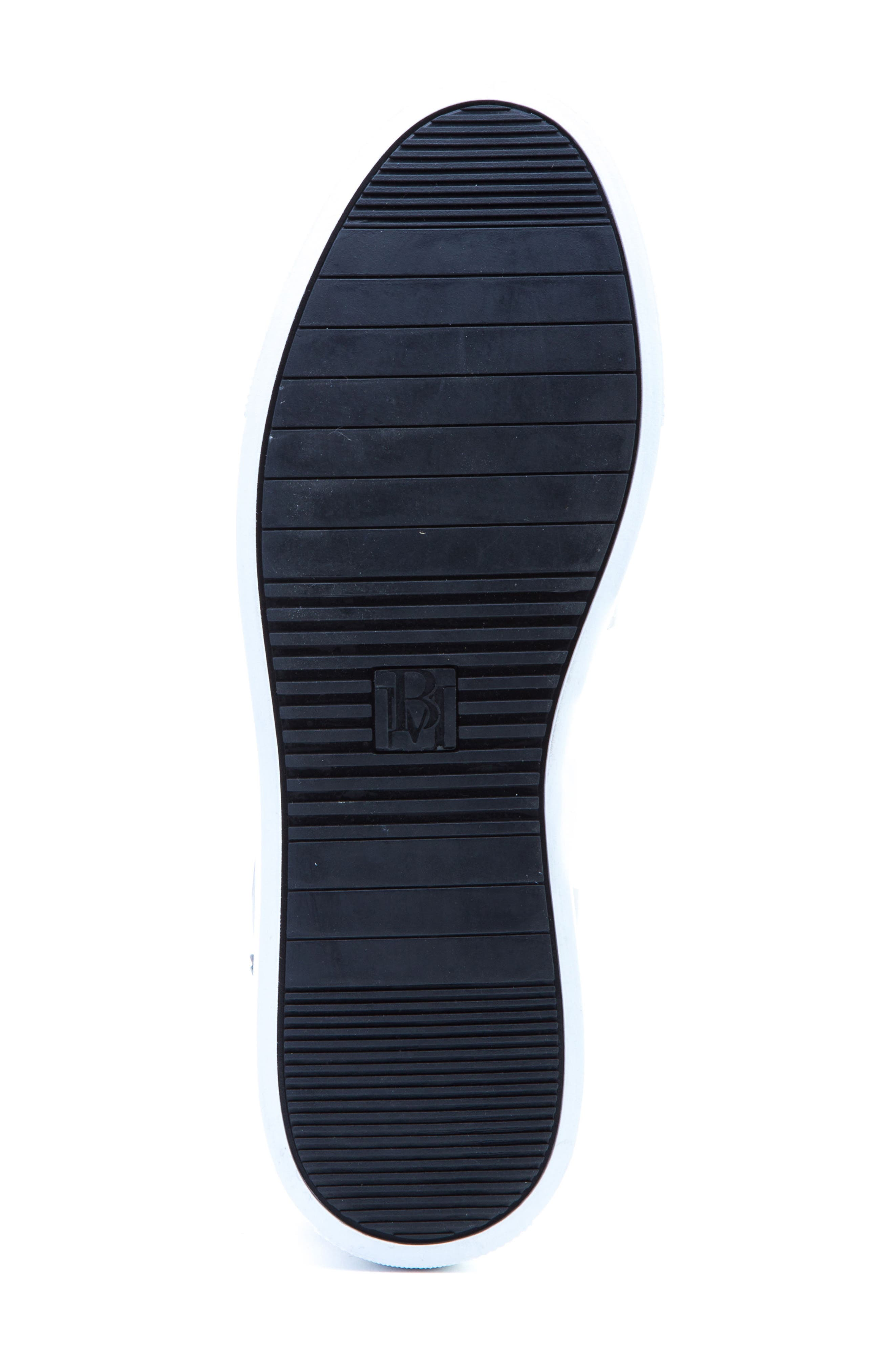 Carroll Sneaker,                             Alternate thumbnail 5, color,                             White Leather