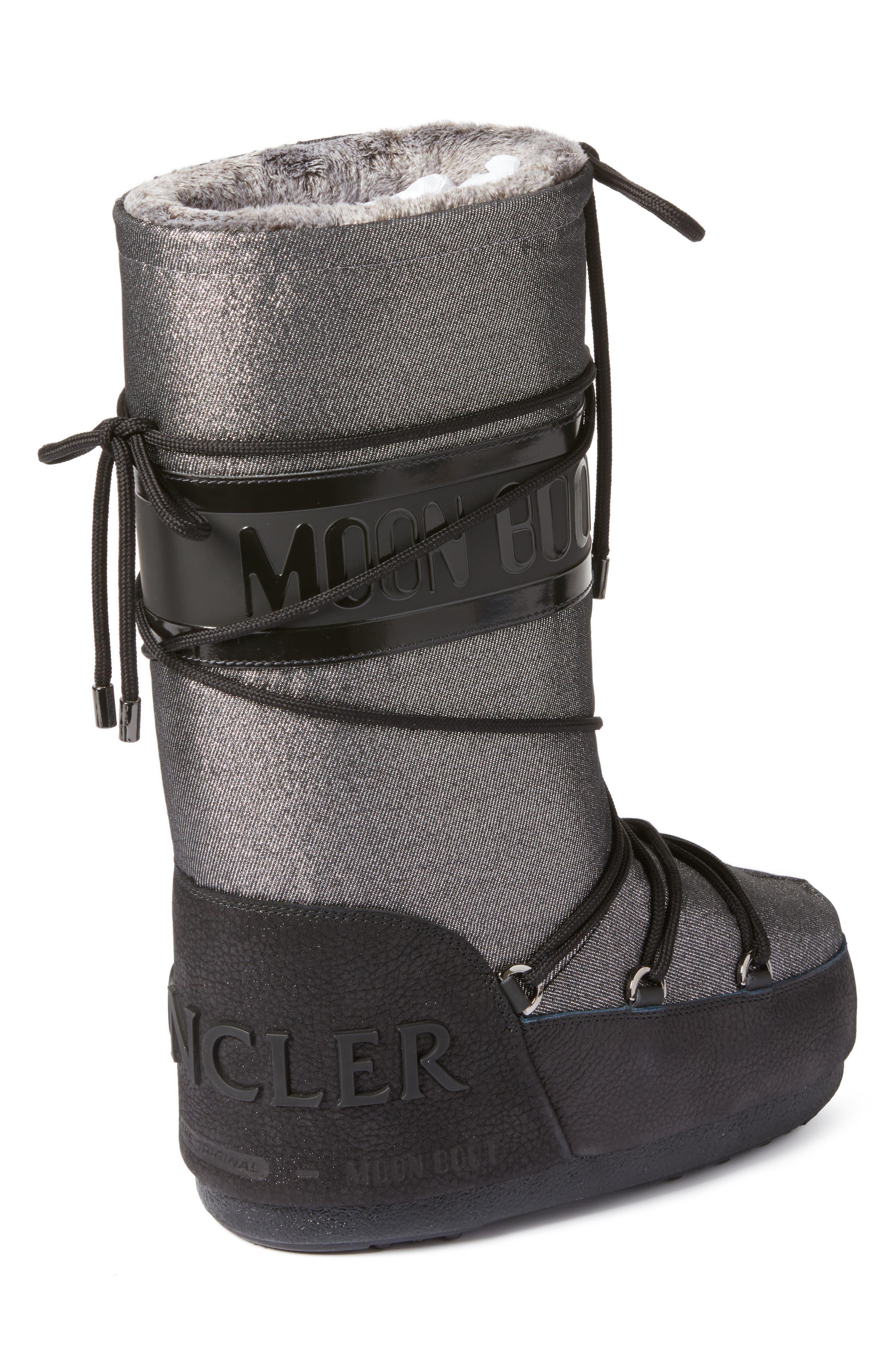 Alternate Image 2  - Moncler Saturne Moon Boot (Women)