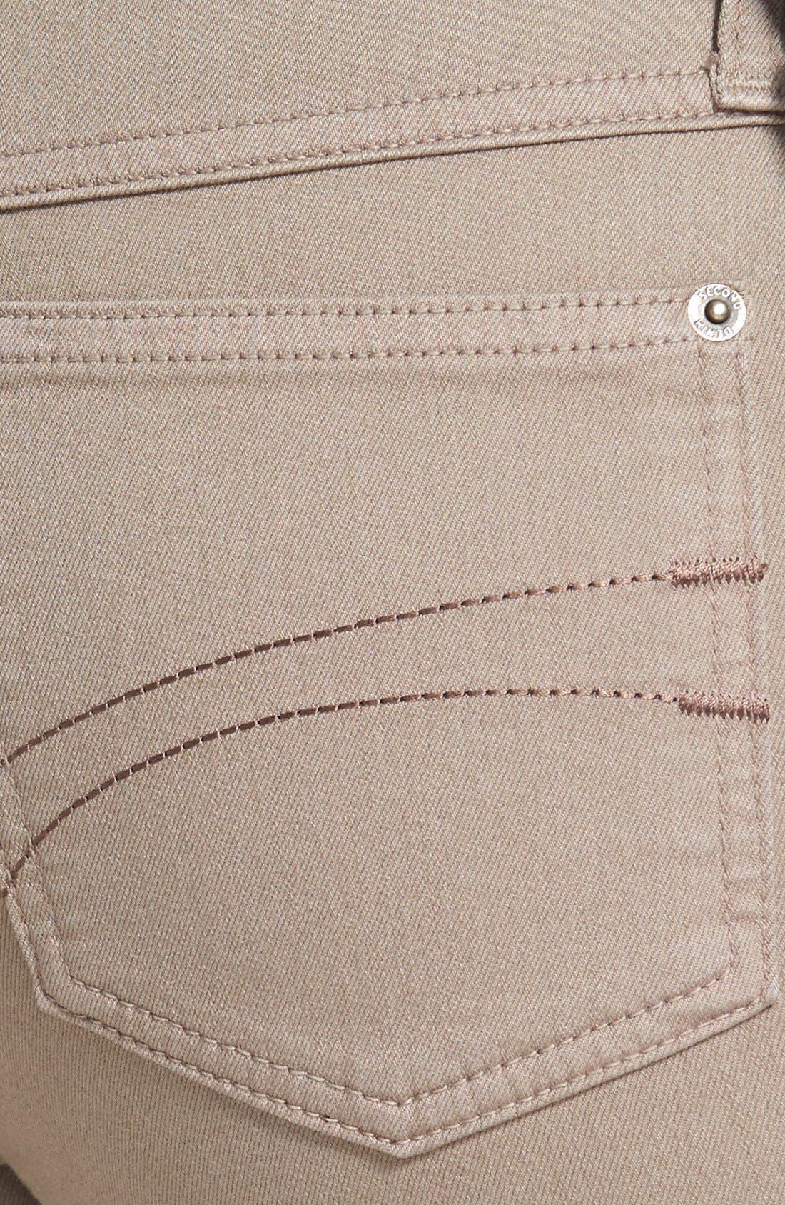 Alternate Image 3  - Second Yoga Jeans Capri Jeans