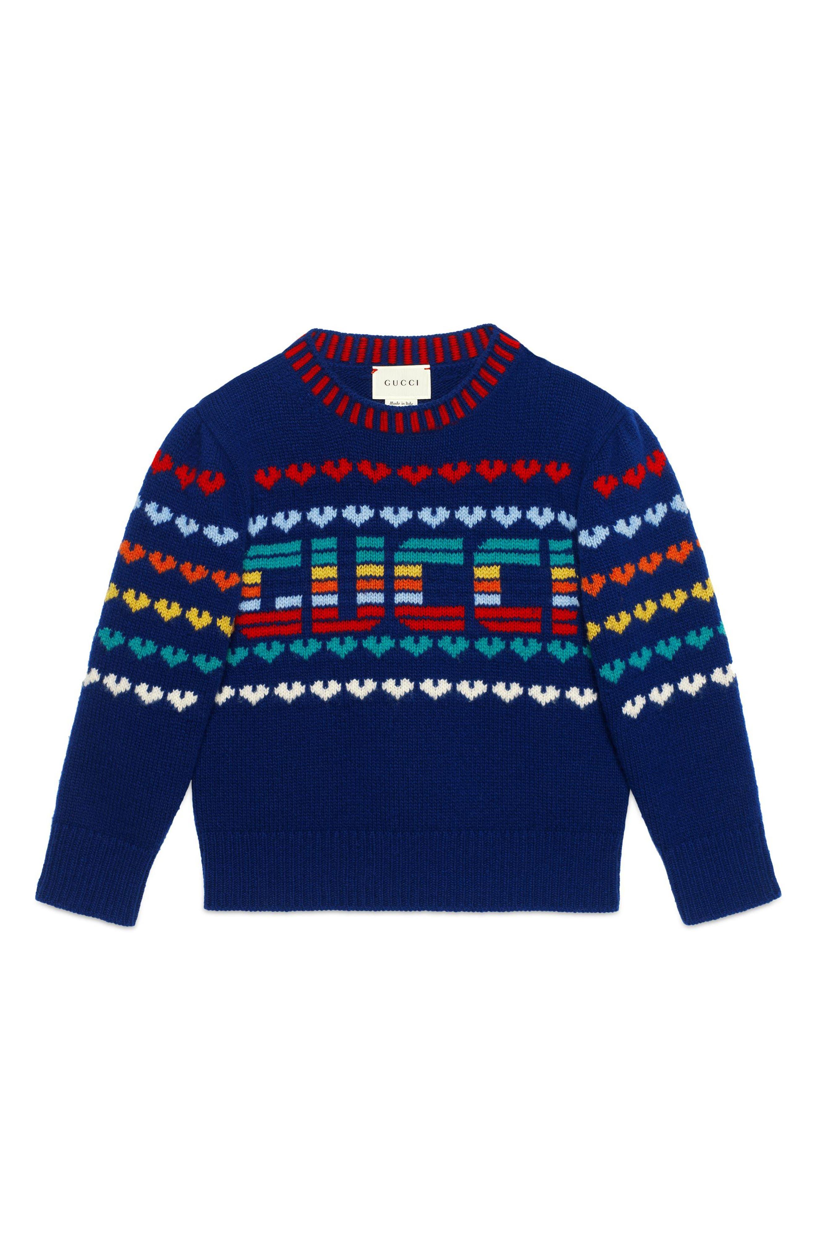 Gucci Intarsia Sweater (Little Girls & Big Girls)