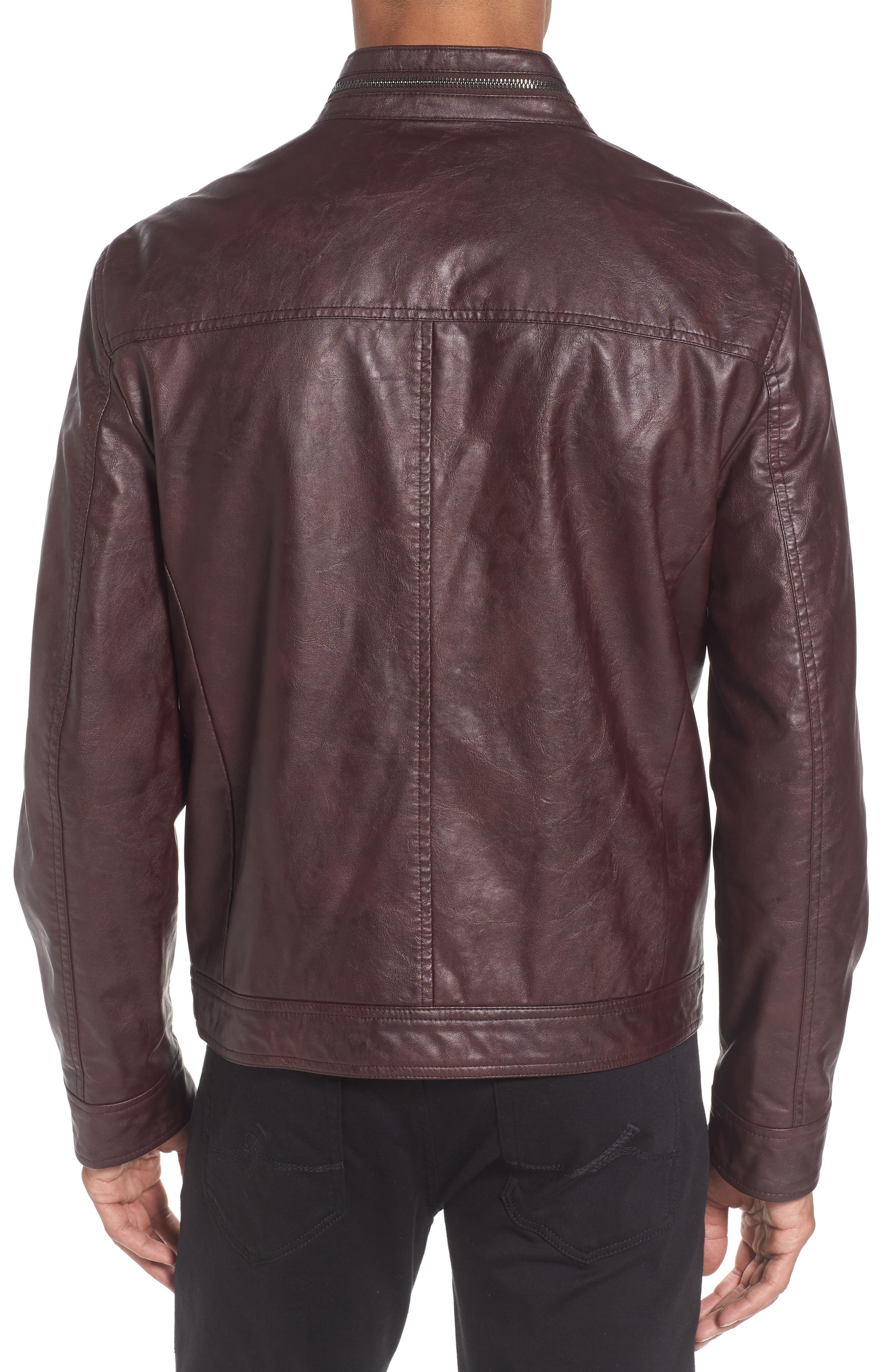 Alternate Image 2  - Reaction Kenneth Cole Faux Leather Jacket