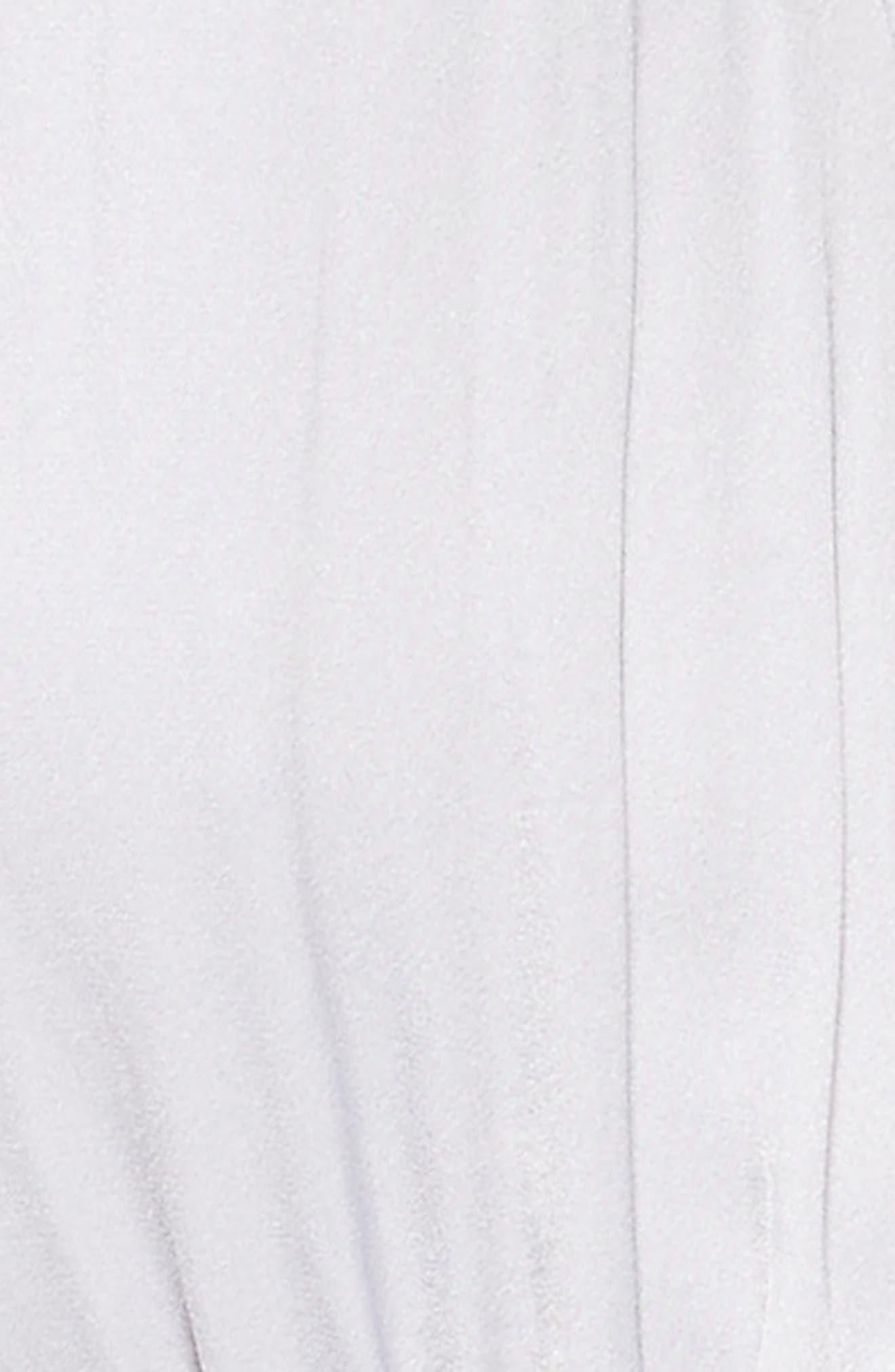 Deep V Bodysuit,                             Alternate thumbnail 5, color,                             Grey Sconce
