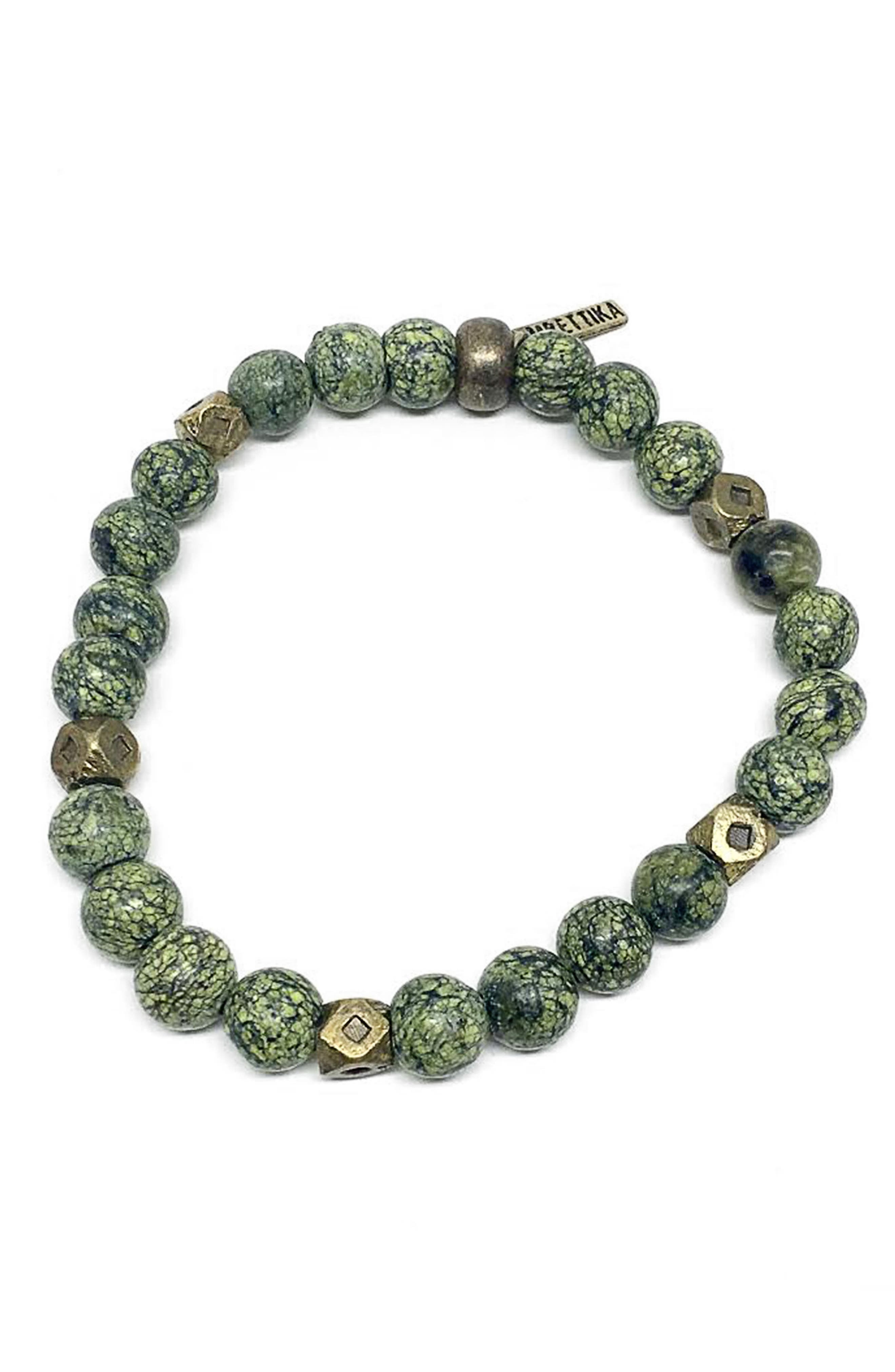 Beyond The Meadow Bracelet,                             Main thumbnail 1, color,                             Green