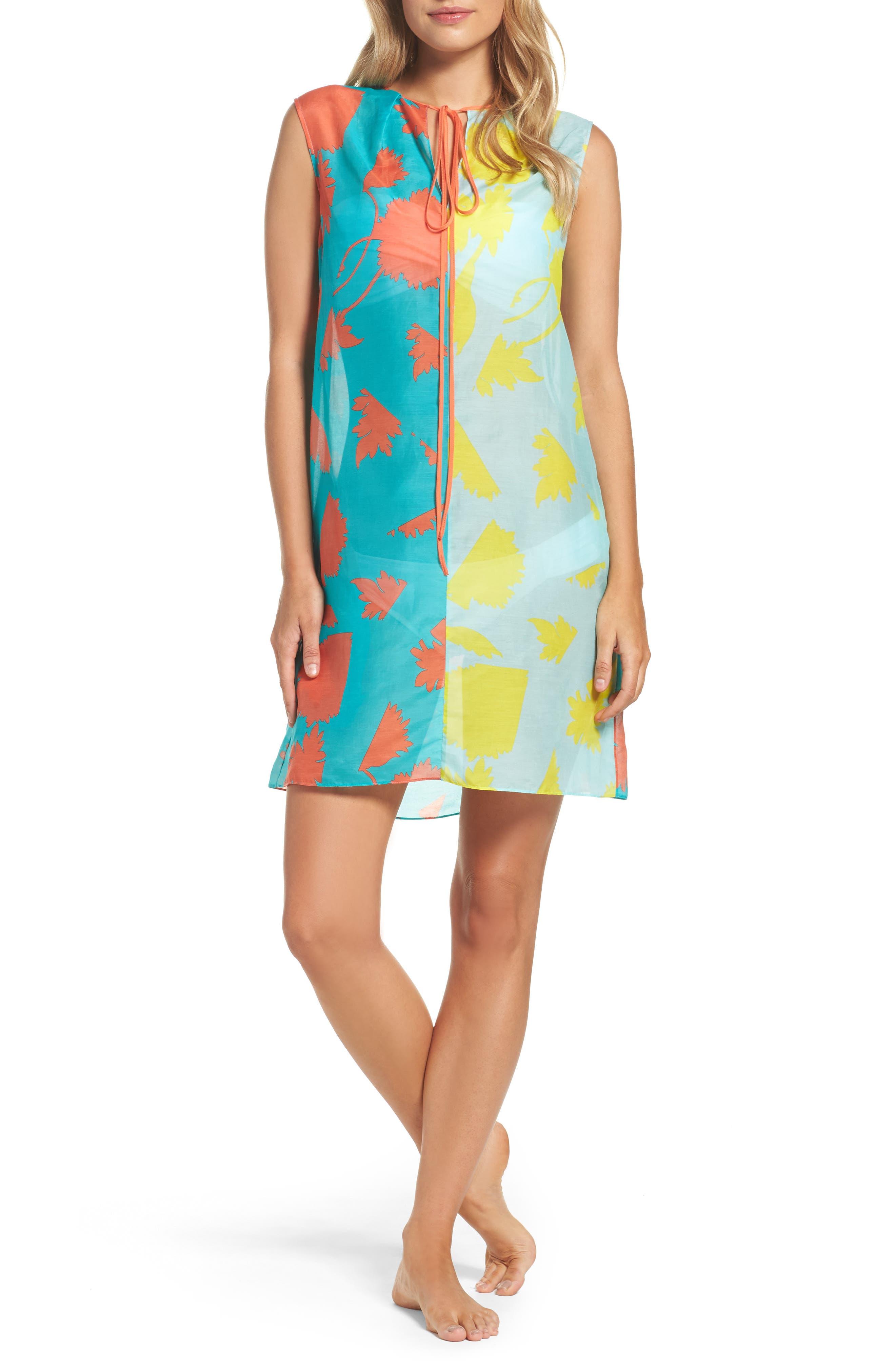 Cover-Up Dress,                         Main,                         color, Cardan Lr