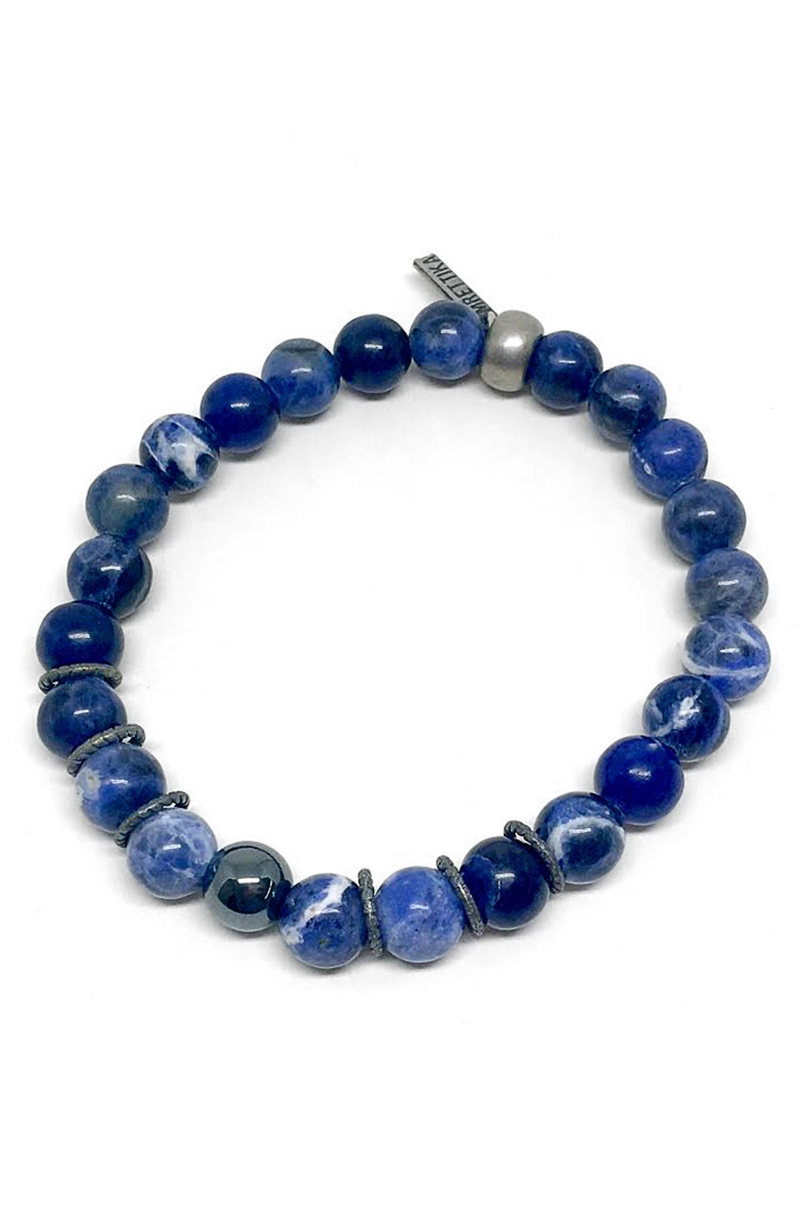 Sippin' On Soda Bracelet,                         Main,                         color, Blue