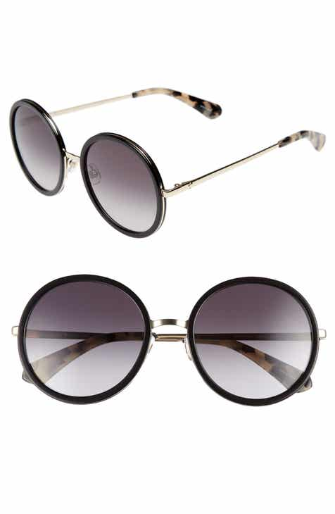 48cc9474b4b kate spade new york lamonica 54mm gradient lens round sunglasses