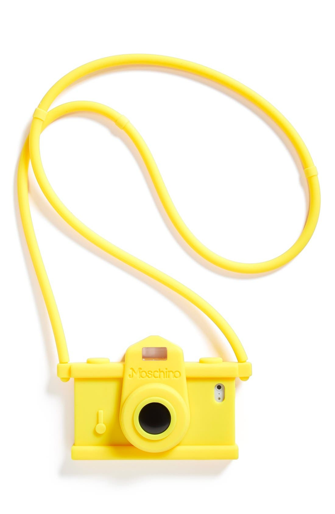 Alternate Image 1 Selected - Moschino Camera iPhone 5, 5s &5c Case