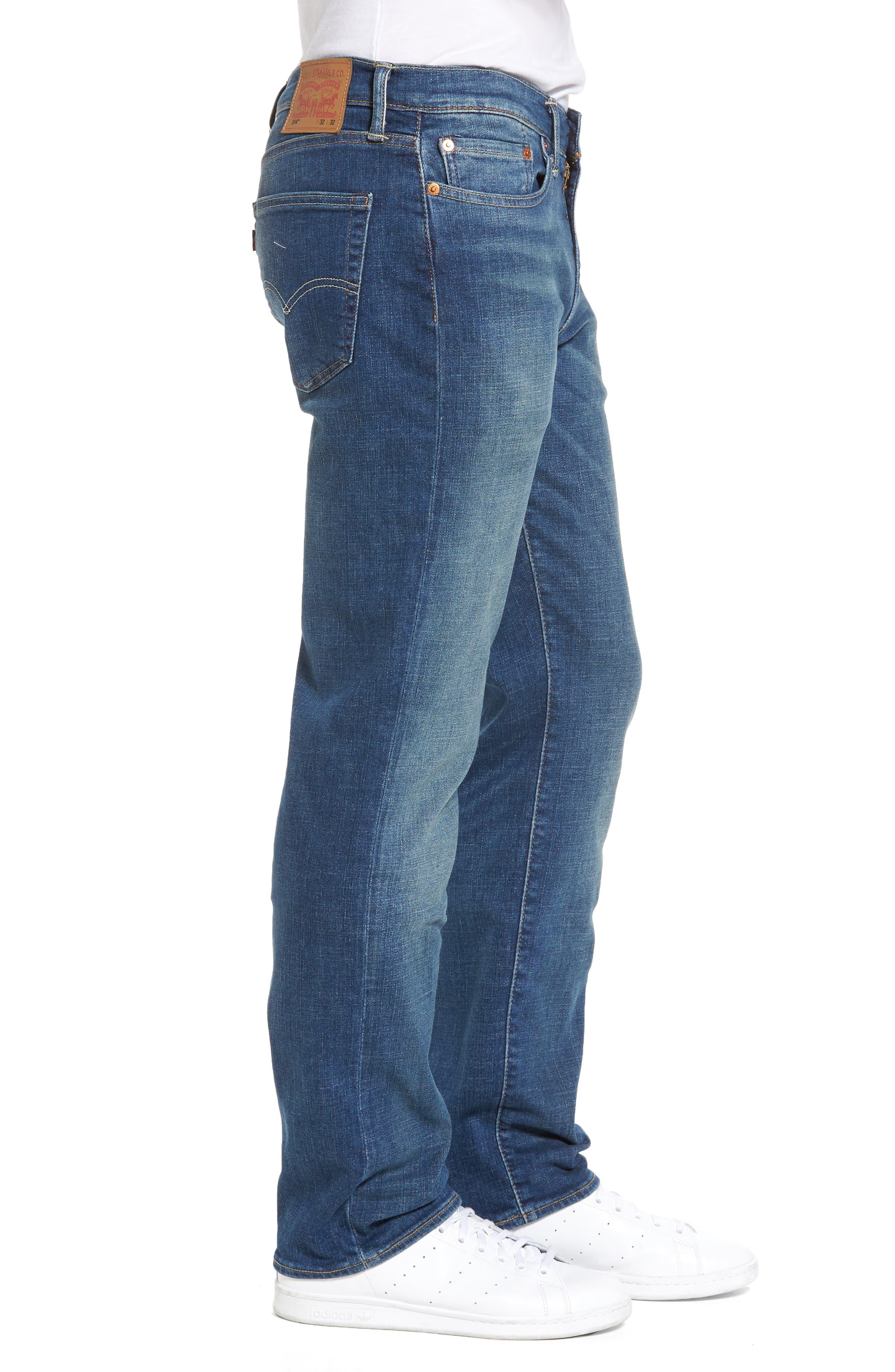 Alternate Image 3  - Levi's® 514™ Straight Leg Jeans (Yoke)
