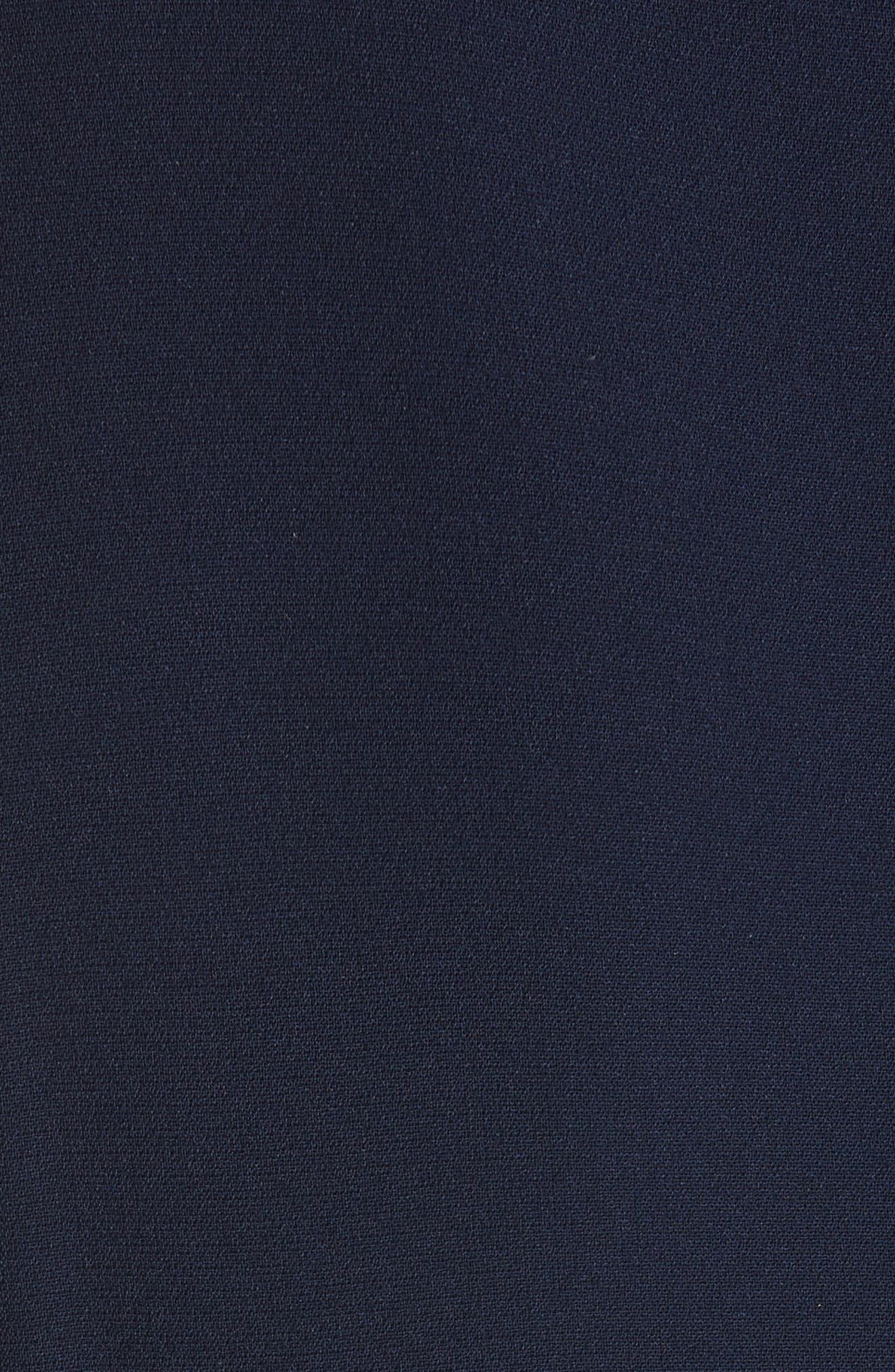 Niko Cold Shoulder Dress,                             Alternate thumbnail 5, color,                             Sapphire