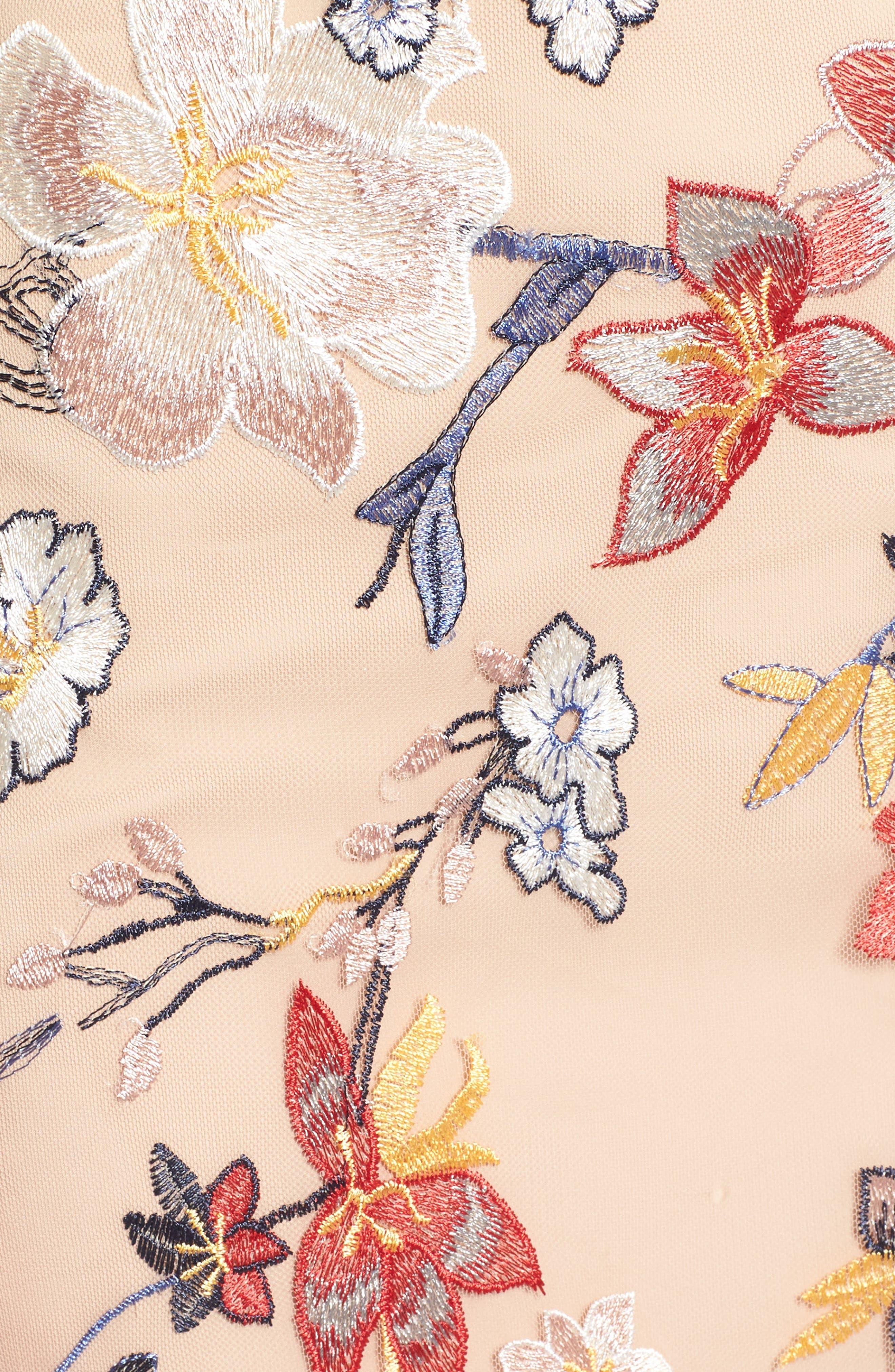 Alternate Image 5  - devlin Allyson Embroidered Dress