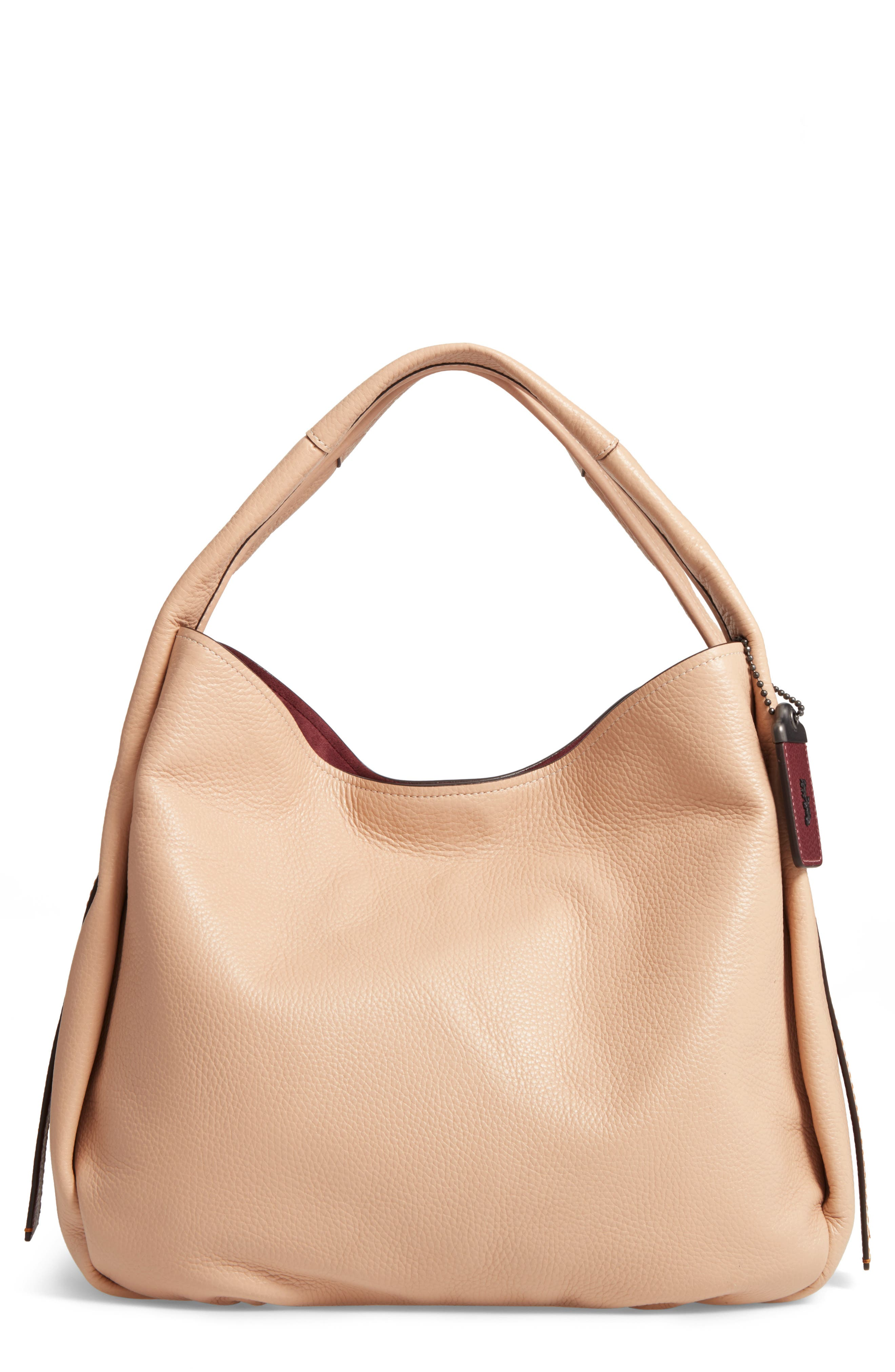 COACH 1941 Bandit Leather Hobo & Removable Shoulder Bag | Nordstrom