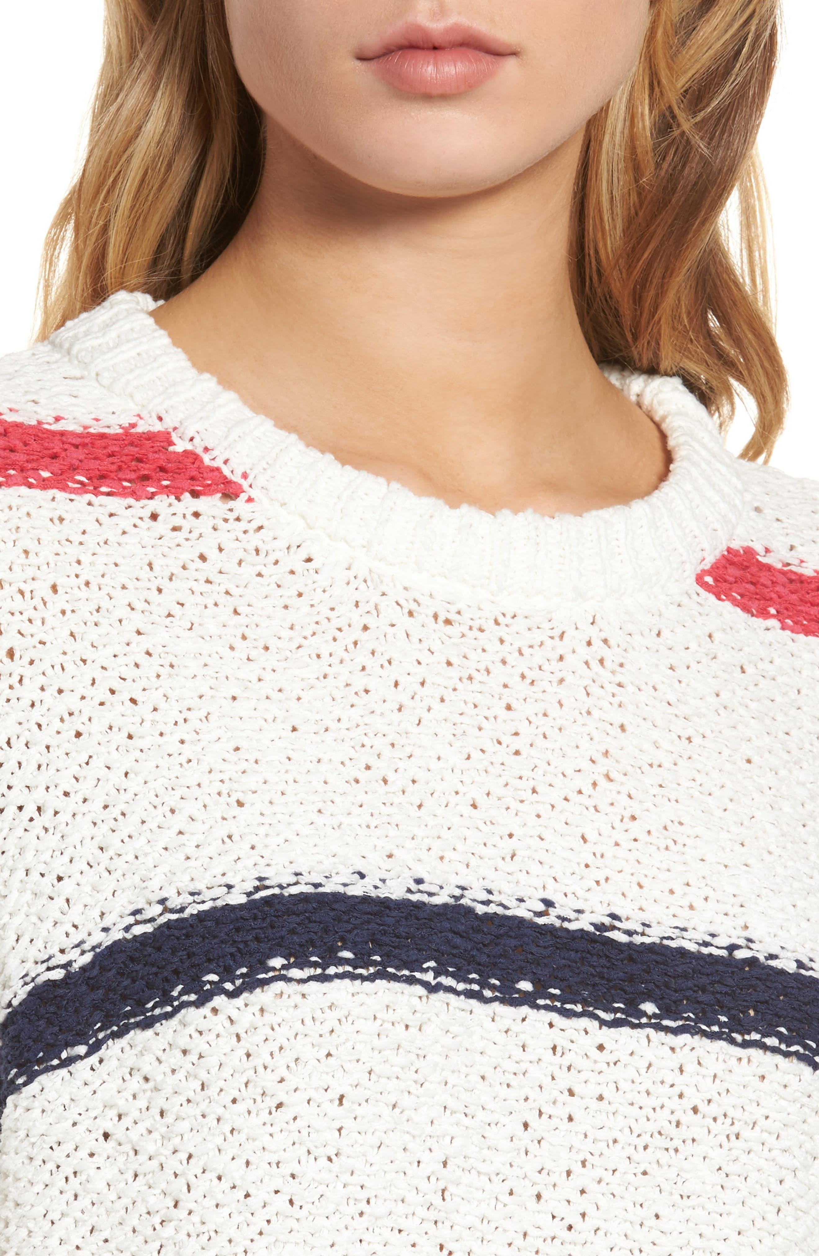 Alternate Image 4  - cupcakes and cashmere Madden Stripe Sweater