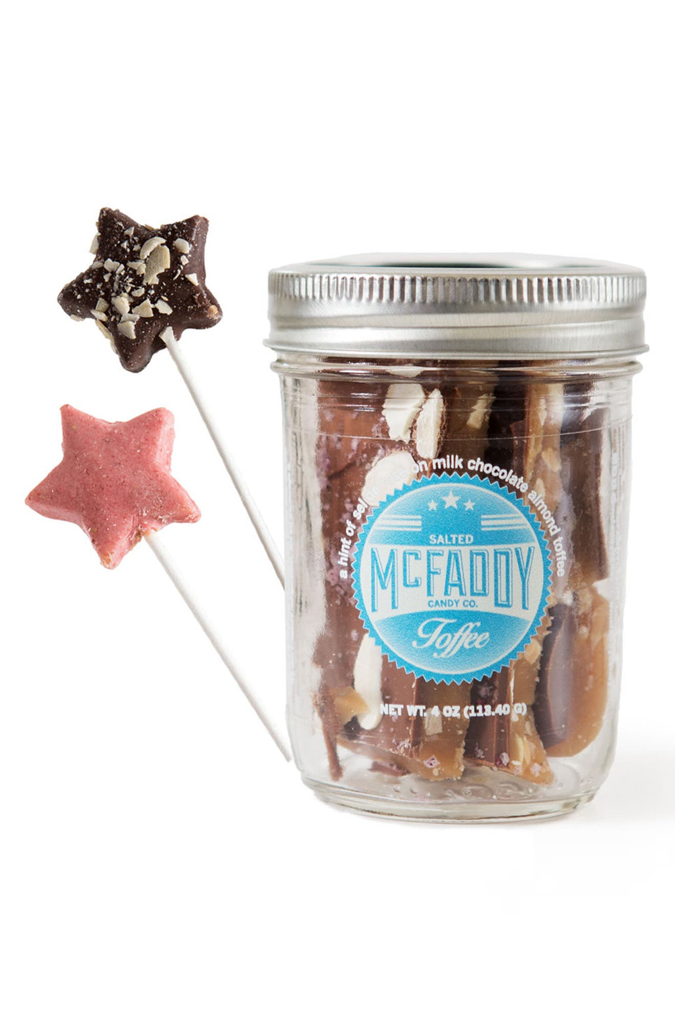 Alternate Image 1 Selected - McFaddy Candy Toffee Gift Set