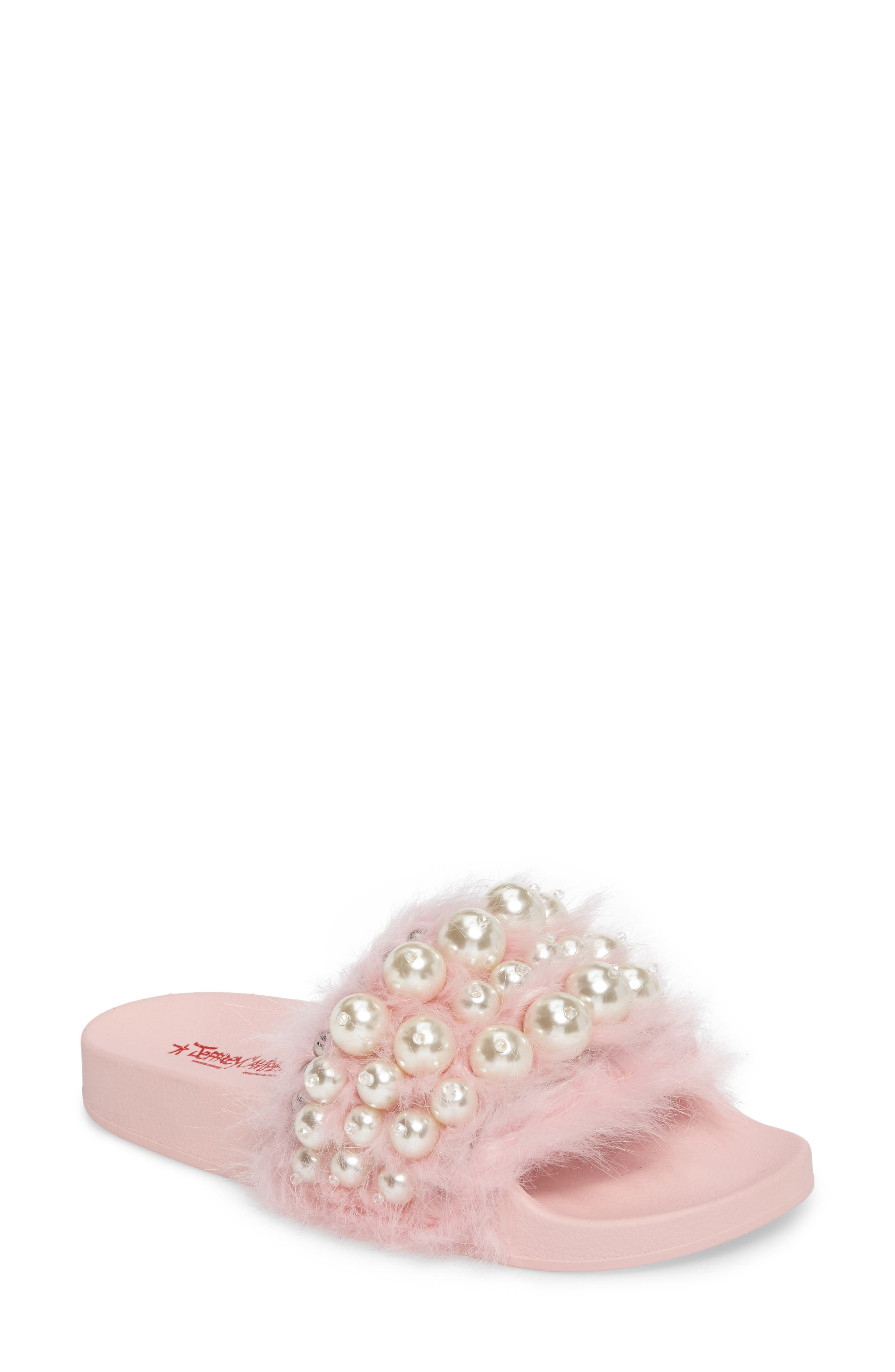Jeffrey Campbell Jova Embellished Slide (Women)