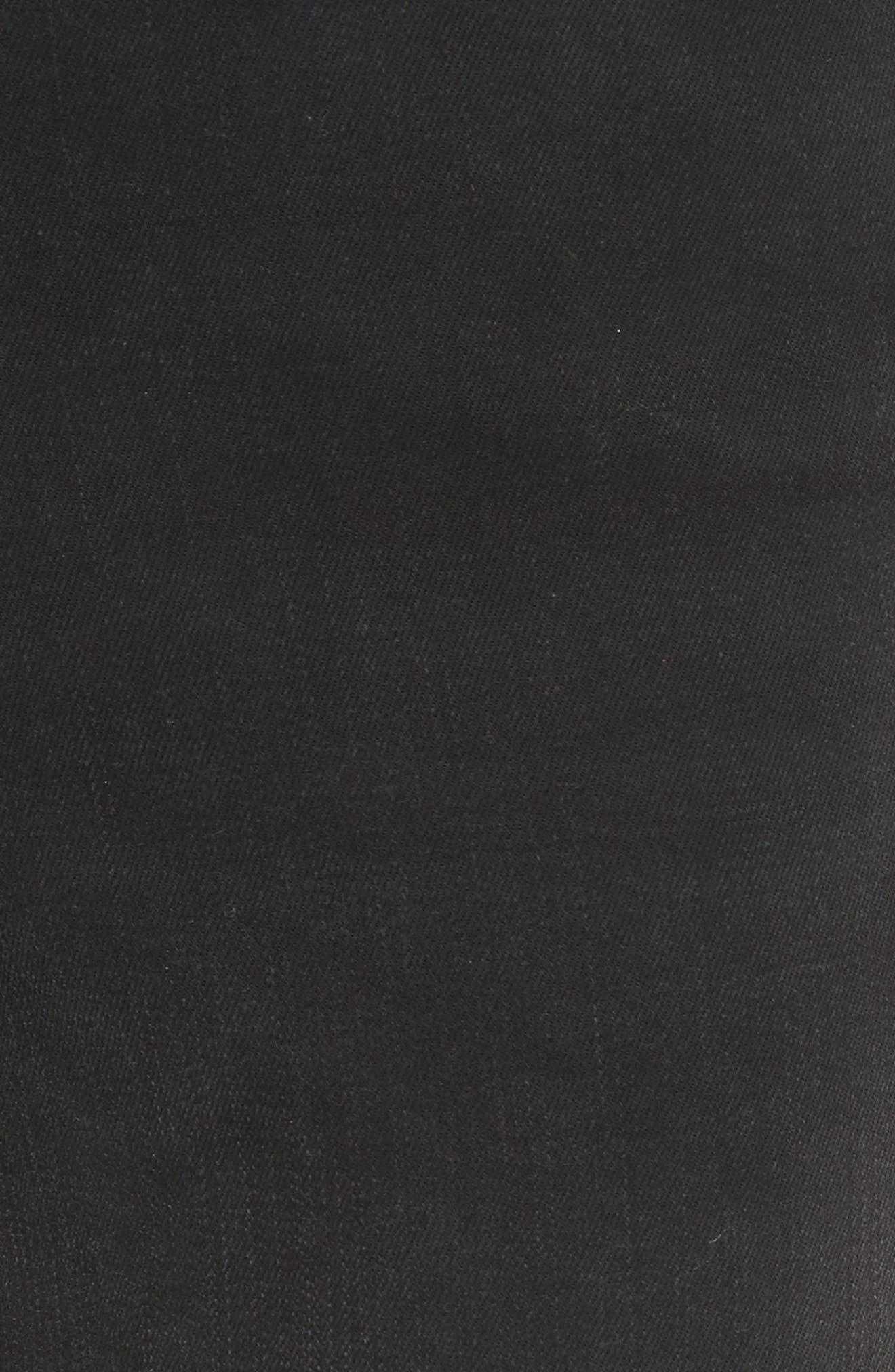 Le High Petal Hem Skinny Jeans,                             Alternate thumbnail 6, color,                             Harrington