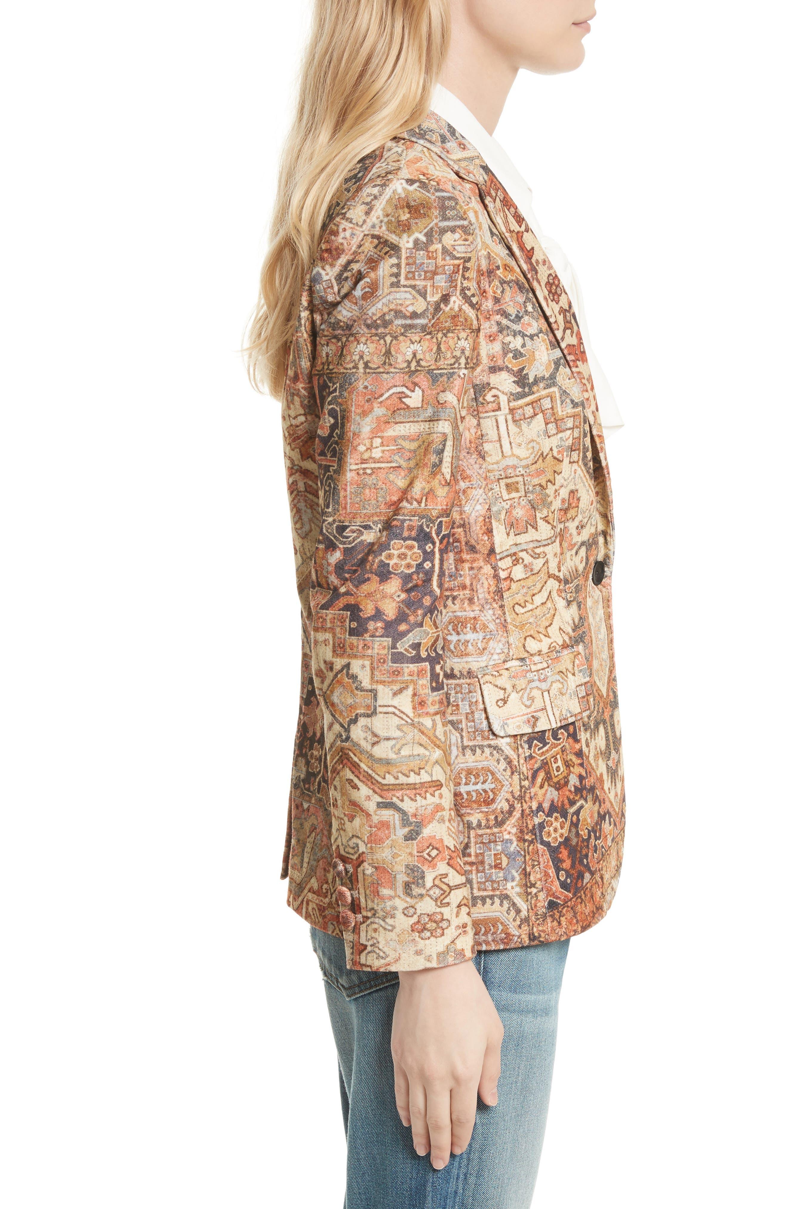 Alternate Image 4  - FRAME Persian Classic Blazer